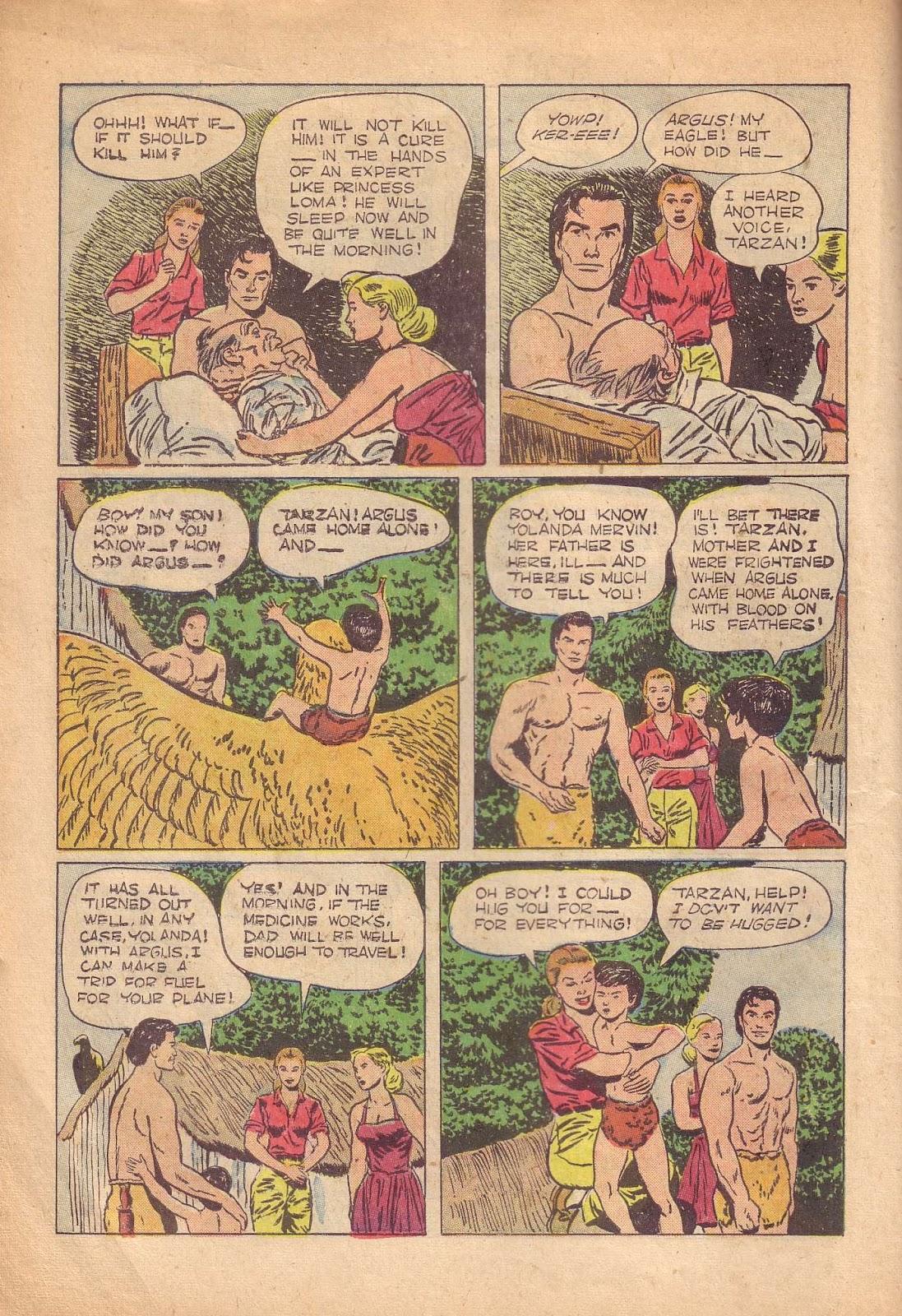 Tarzan (1948) issue 50 - Page 18