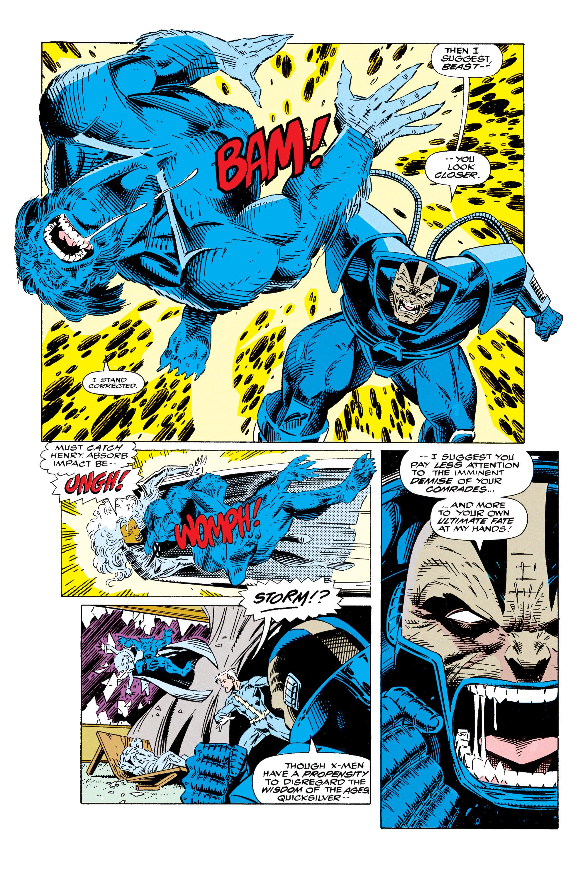 Read online Uncanny X-Men (1963) comic -  Issue #295 - 10