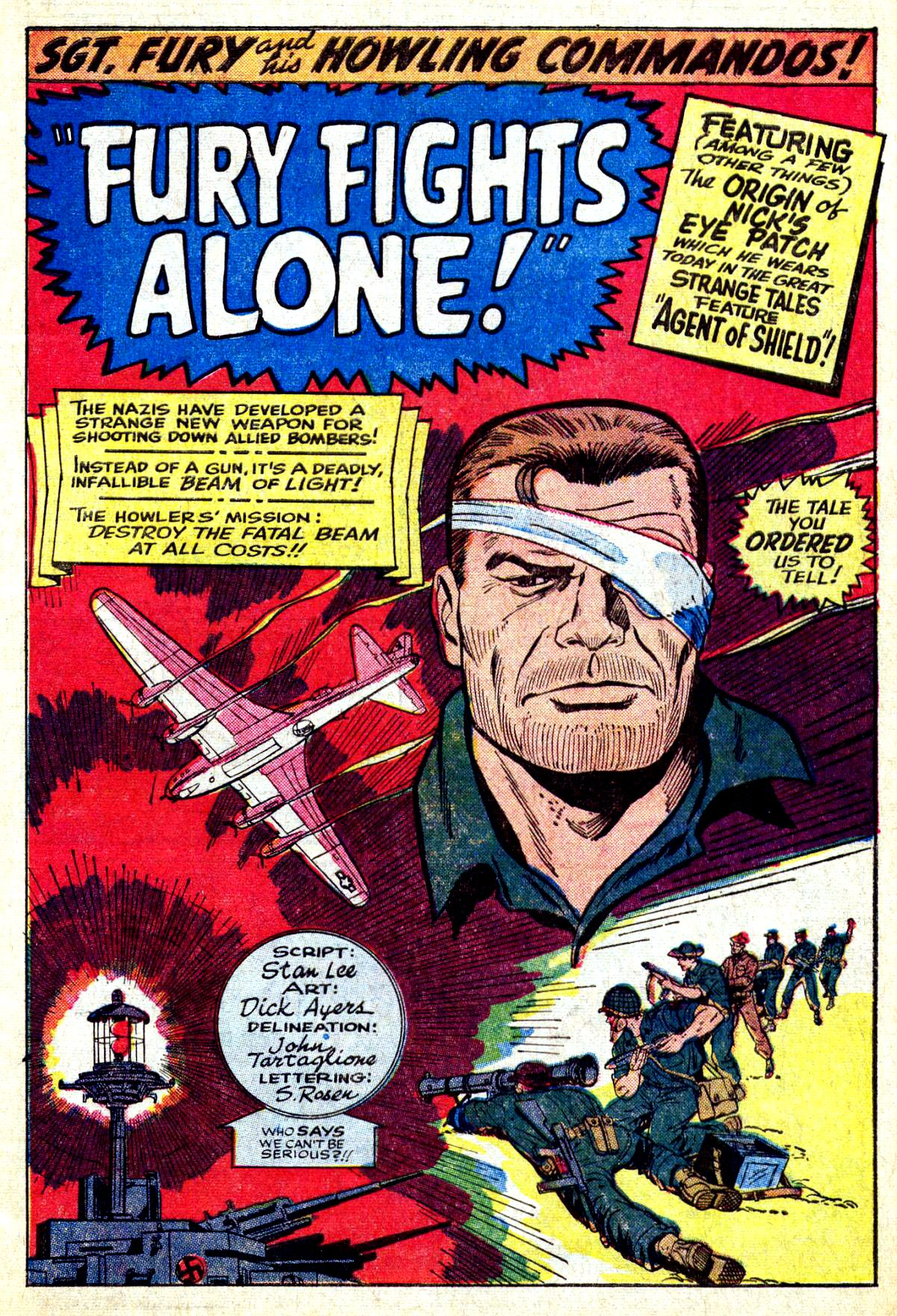 Read online Sgt. Fury comic -  Issue #27 - 3