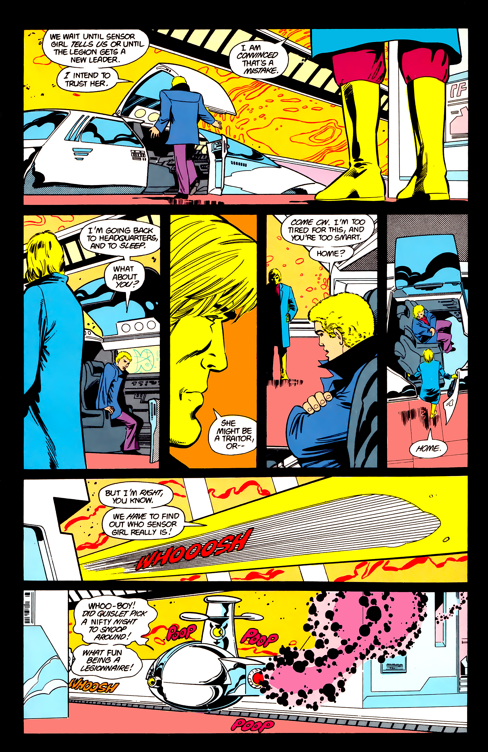 Legion of Super-Heroes (1984) 21 Page 4