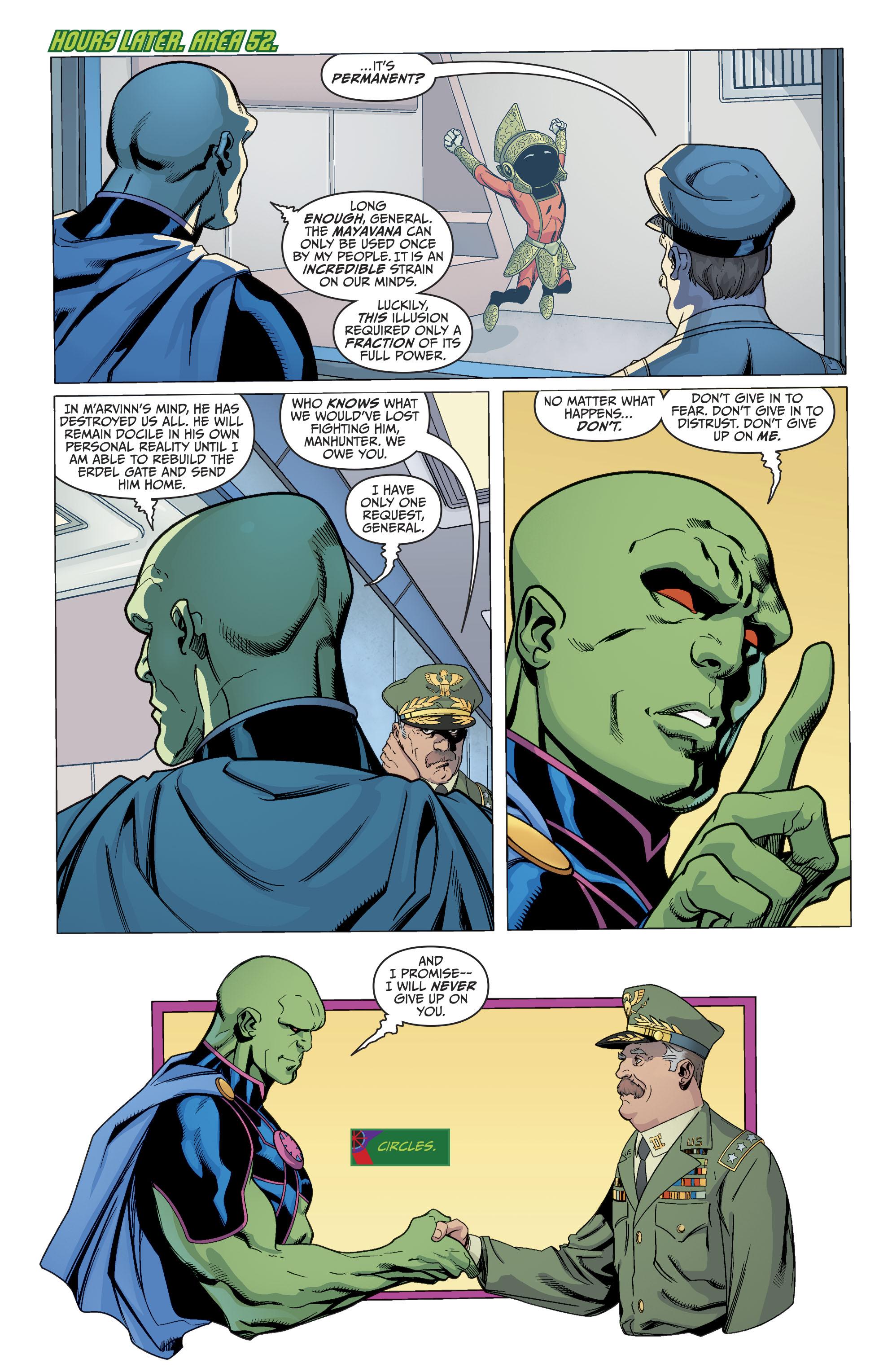Read online Martian Manhunter/Marvin the Martian Special comic -  Issue # Full - 32