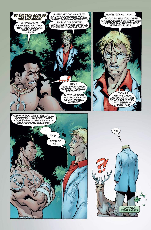 Read online Alpha Flight (2004) comic -  Issue #1 - 6