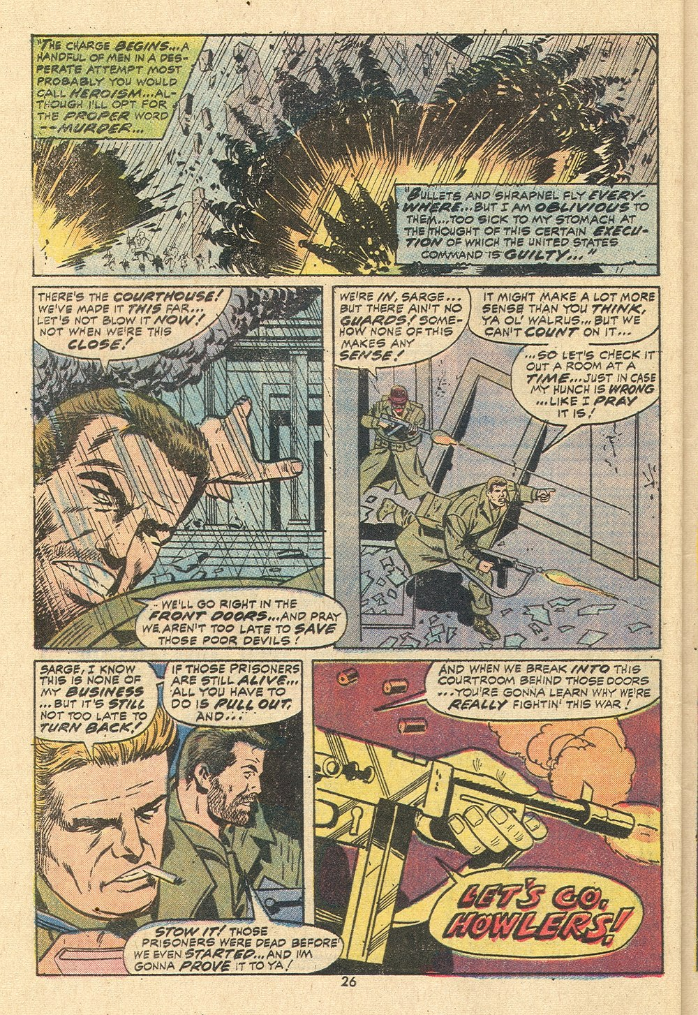 Read online Sgt. Fury comic -  Issue #110 - 28