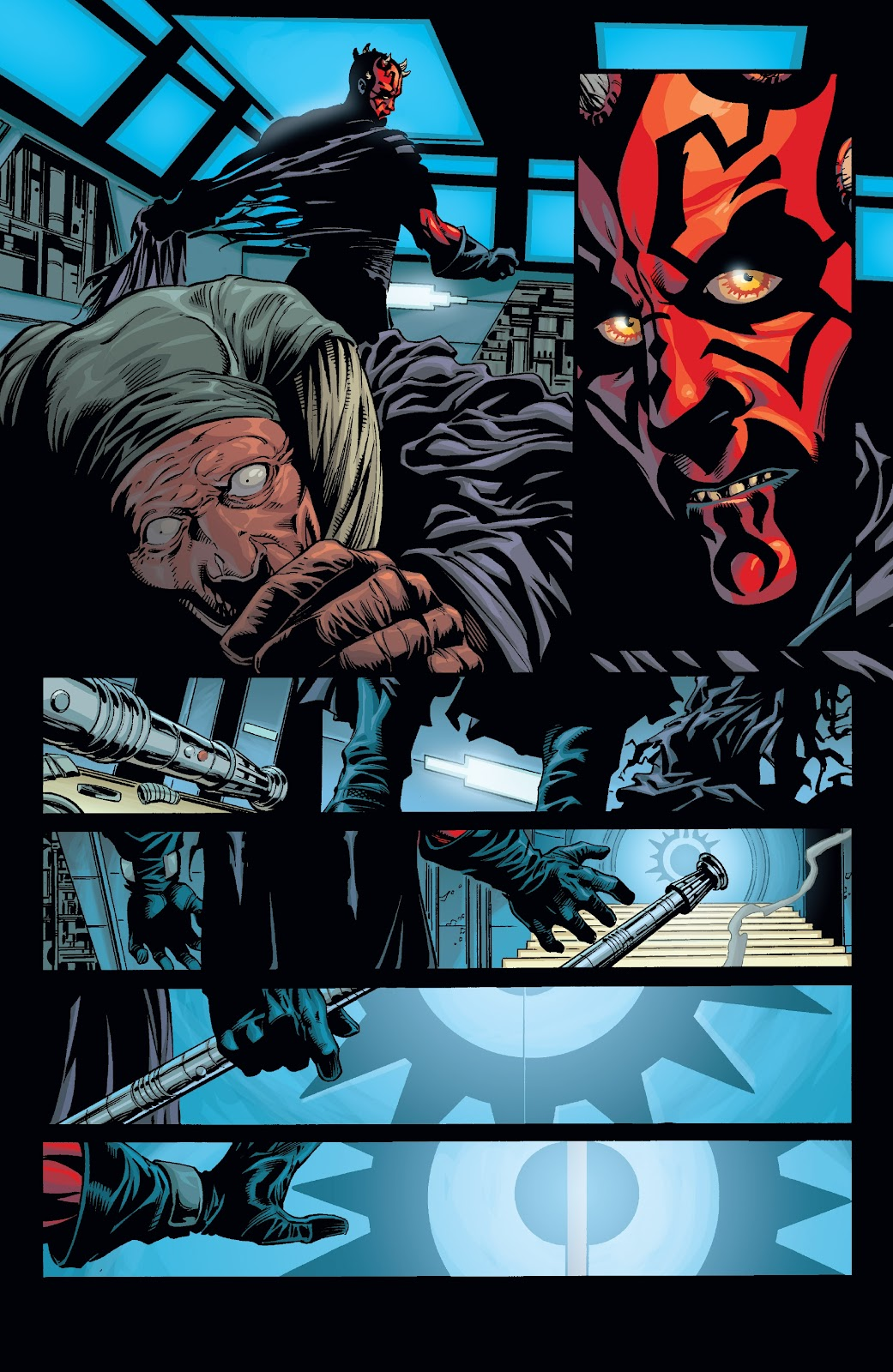 Read online Star Wars Legends: Rise of the Sith - Epic Collection comic -  Issue # TPB 2 (Part 3) - 13
