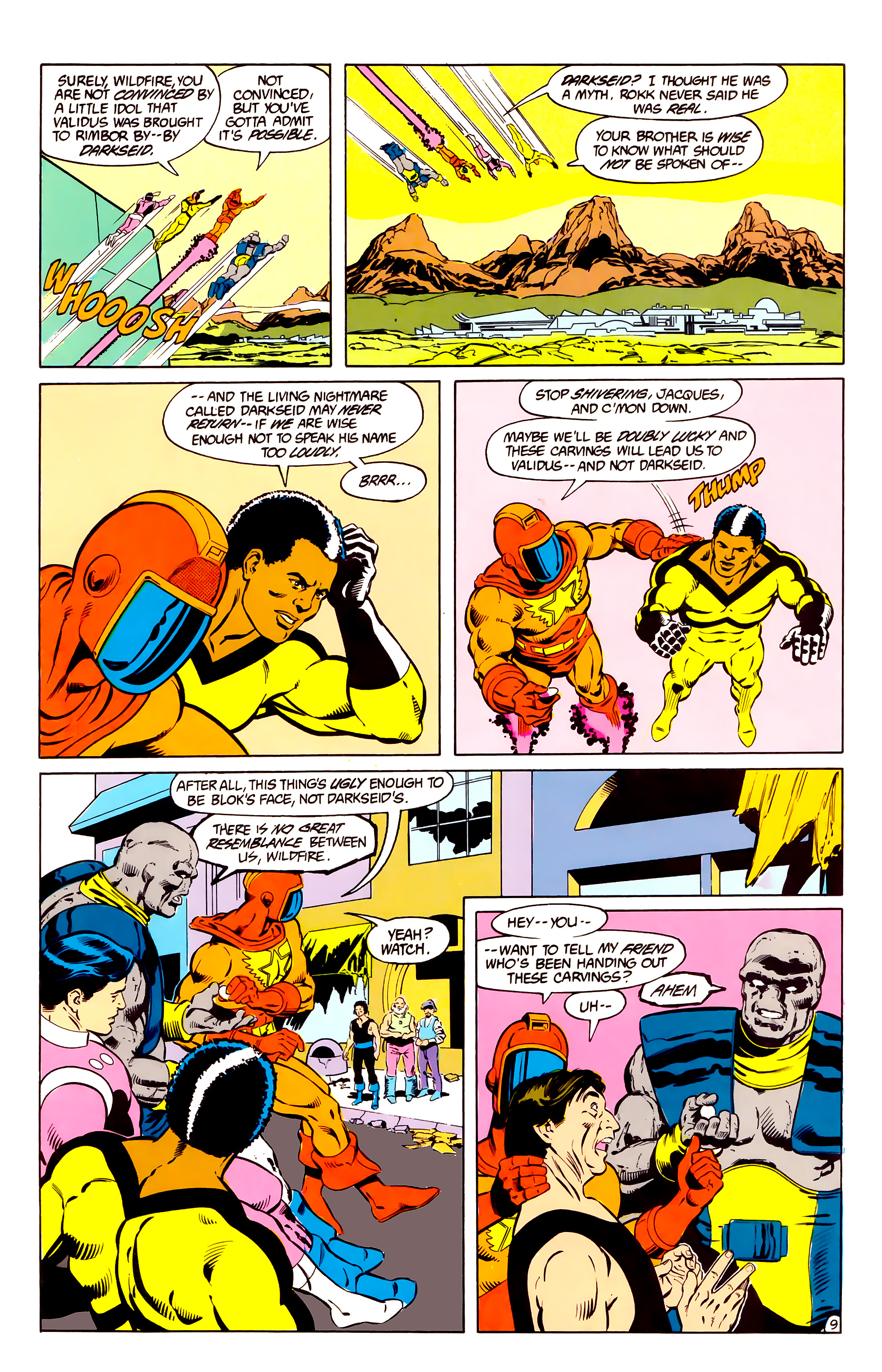 Legion of Super-Heroes (1984) _Annual_2 Page 10