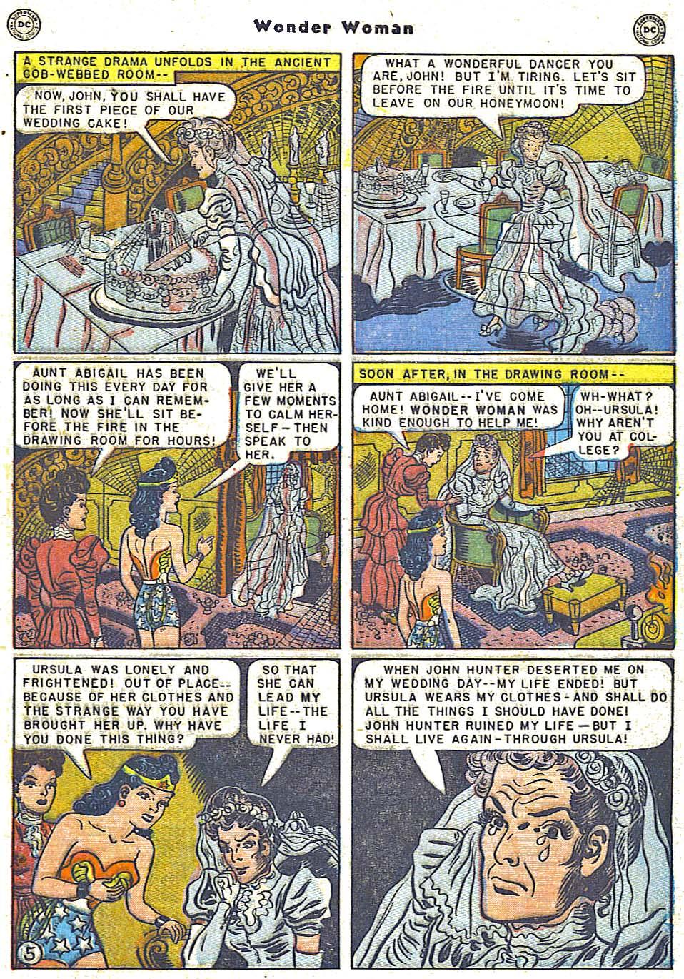 Read online Wonder Woman (1942) comic -  Issue #38 - 7