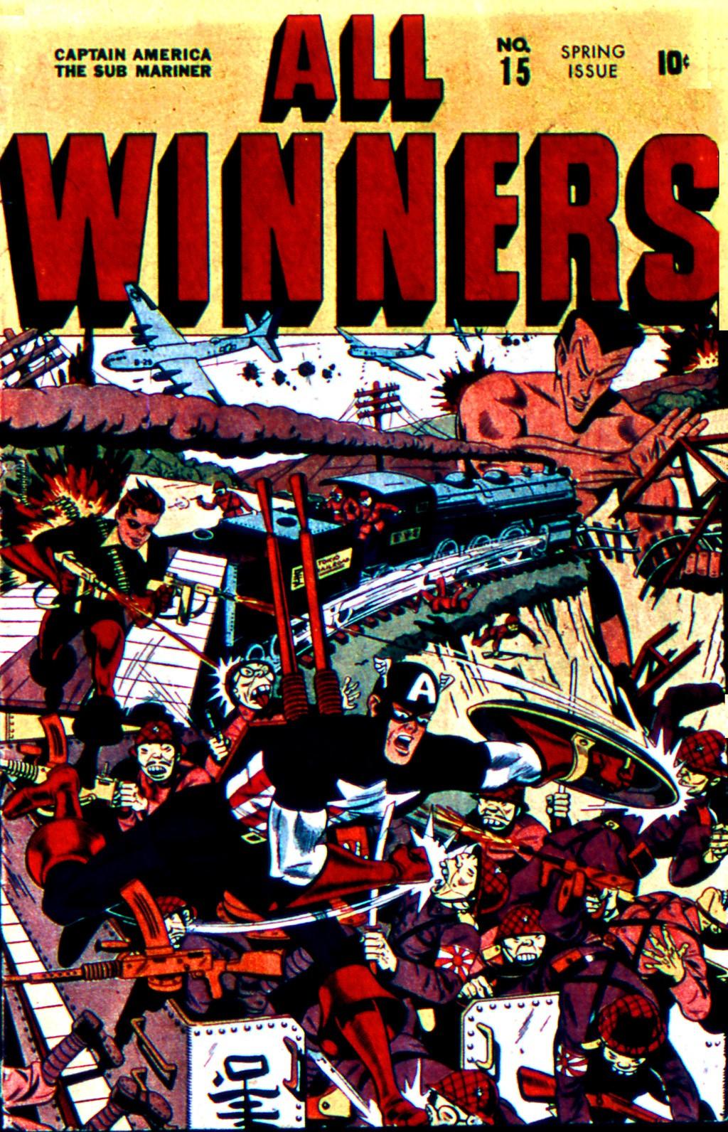 Read online All-Winners Comics comic -  Issue #15 - 1