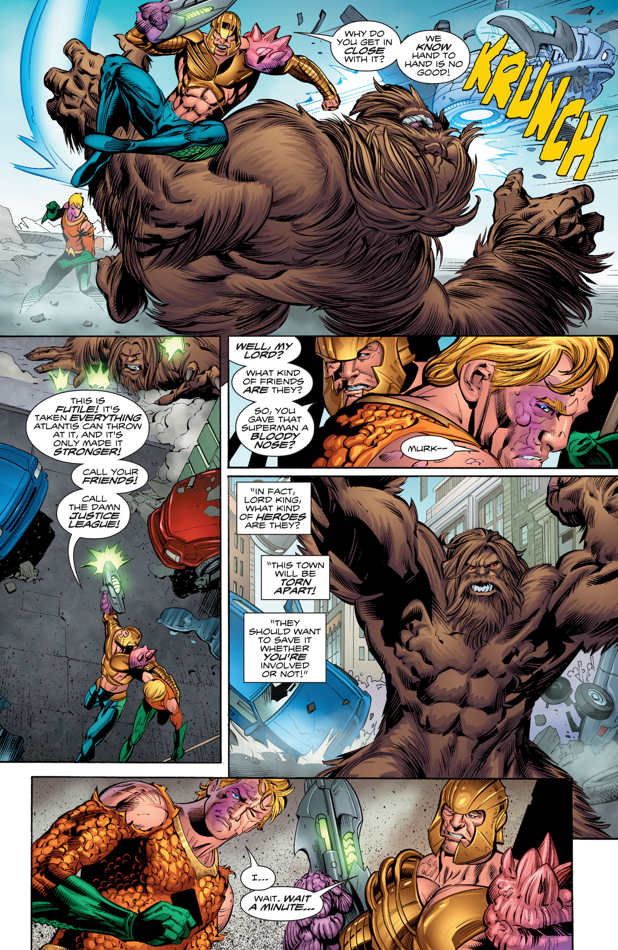 Read online Aquaman (2016) comic -  Issue #9 - 16