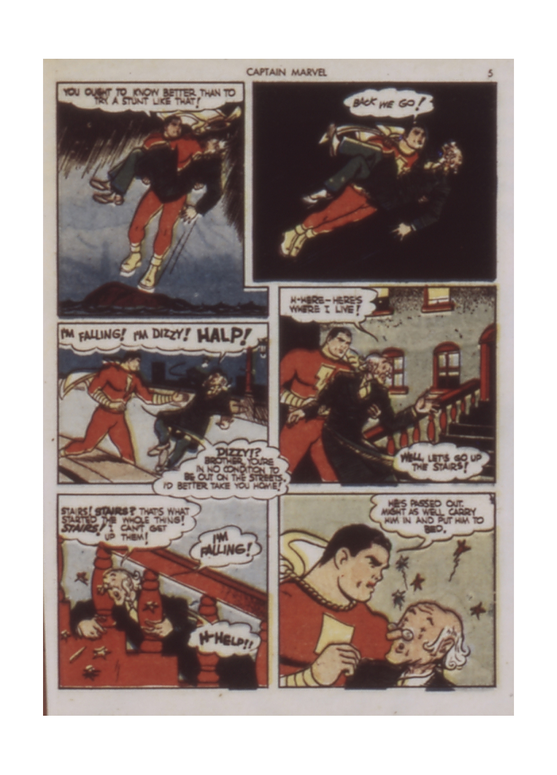 Captain Marvel Adventures issue 9 - Page 5