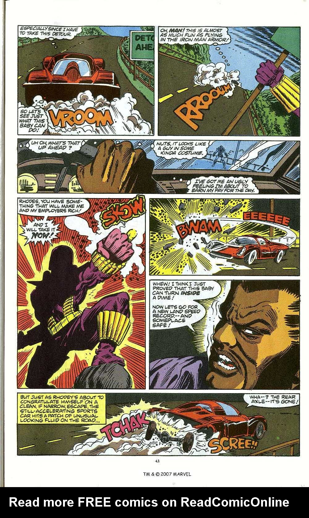 Iron Man Annual issue 12 - Page 45
