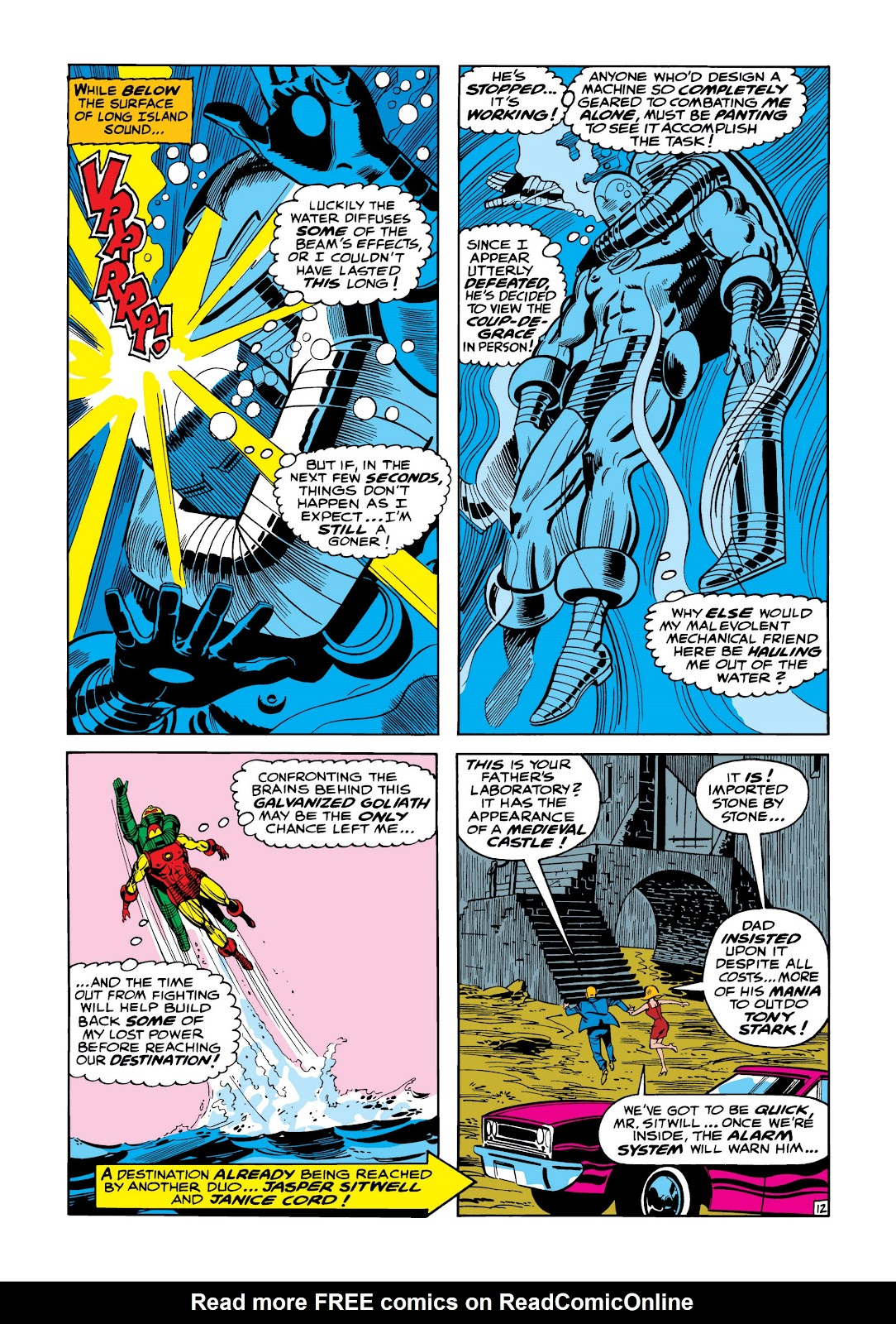 Read online Marvel Masterworks: The Invincible Iron Man comic -  Issue # TPB 5 (Part 1) - 19