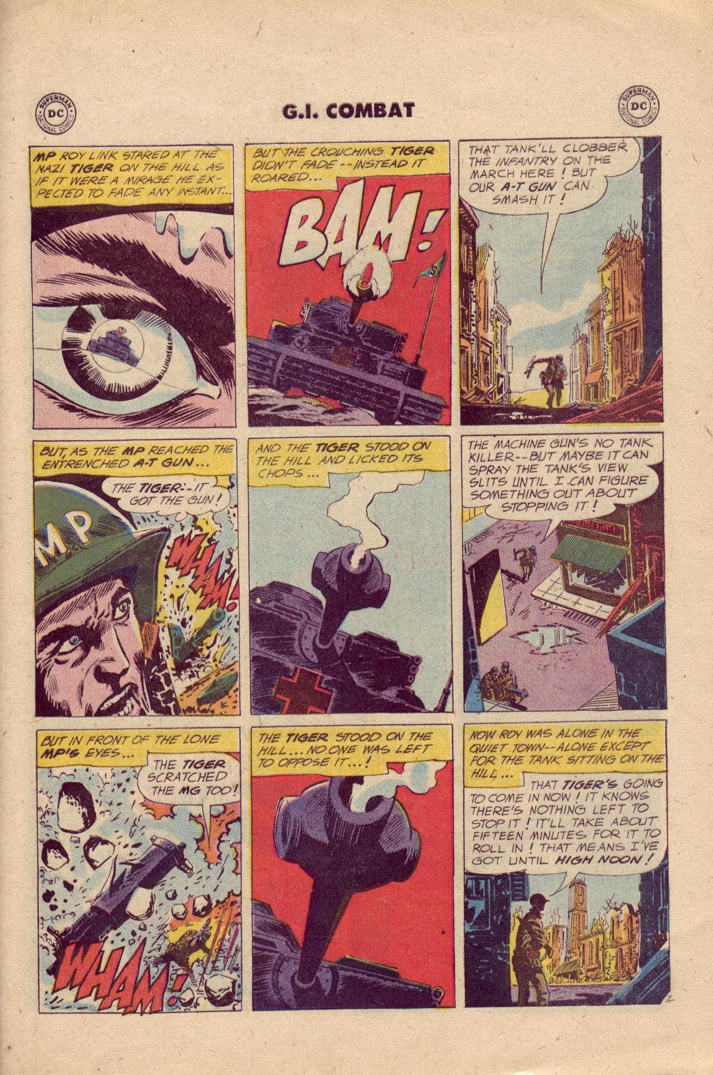 Comic G I  Combat (1952) issue 81