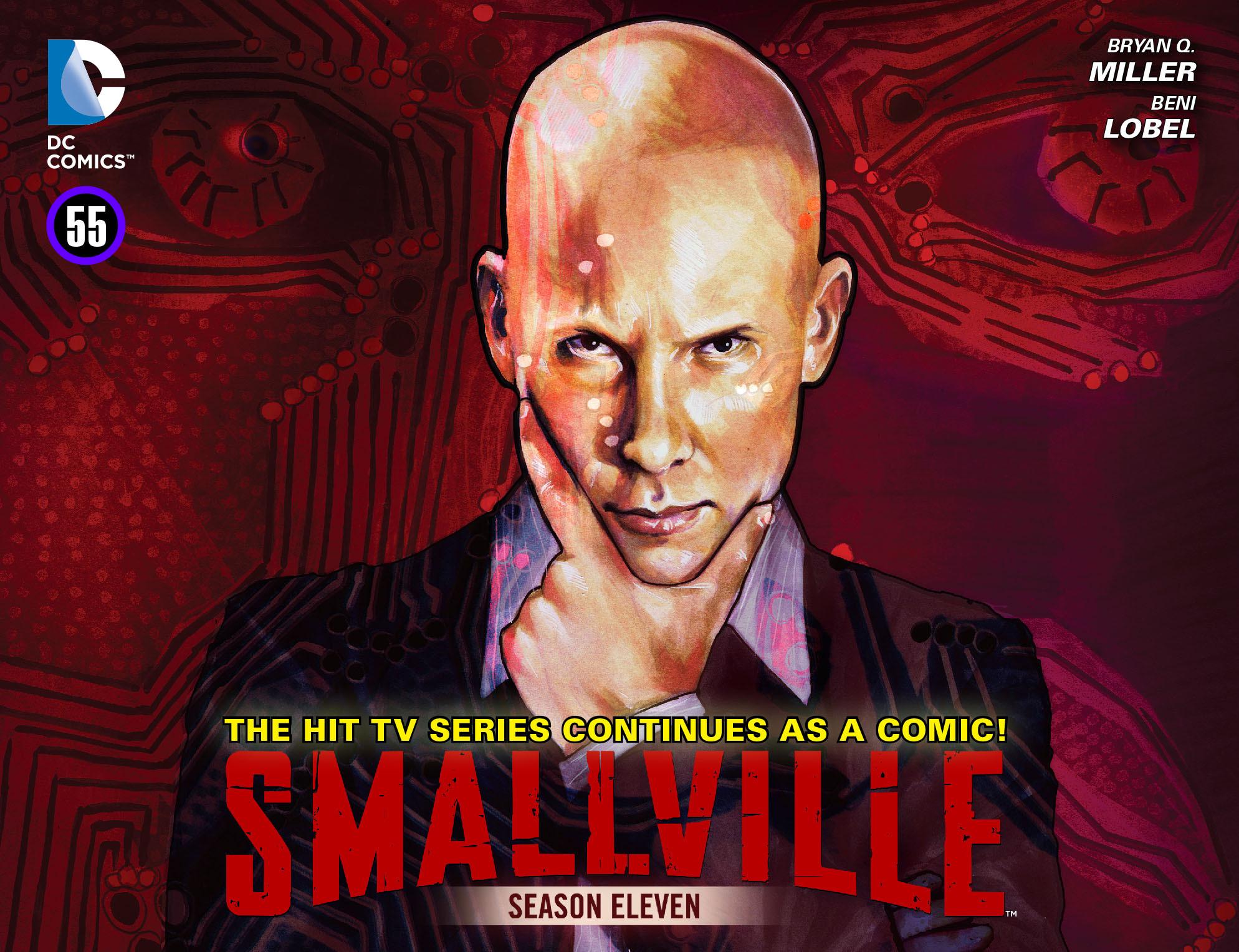 Read online Smallville: Season 11 comic -  Issue #55 - 1