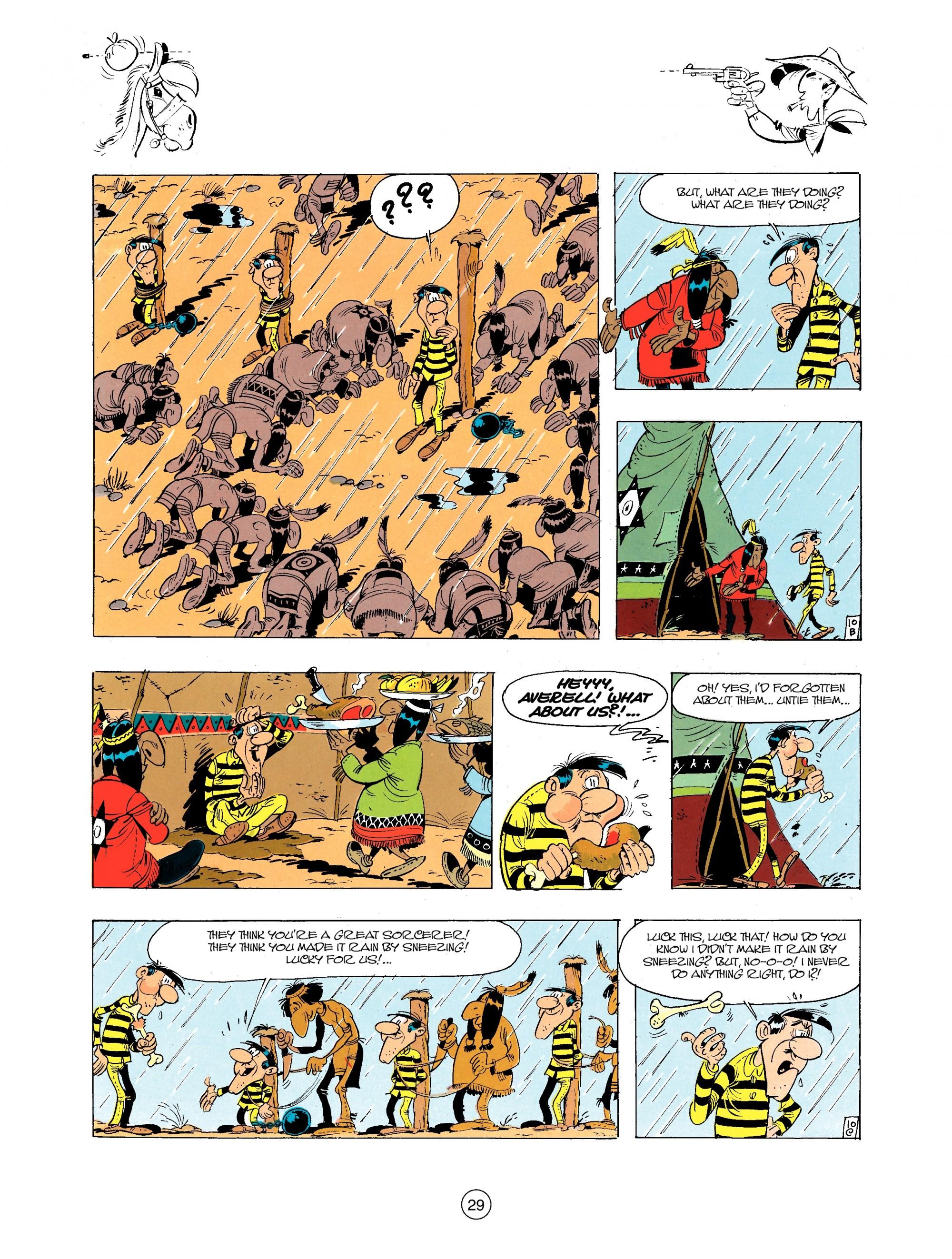 Read online A Lucky Luke Adventure comic -  Issue #34 - 29