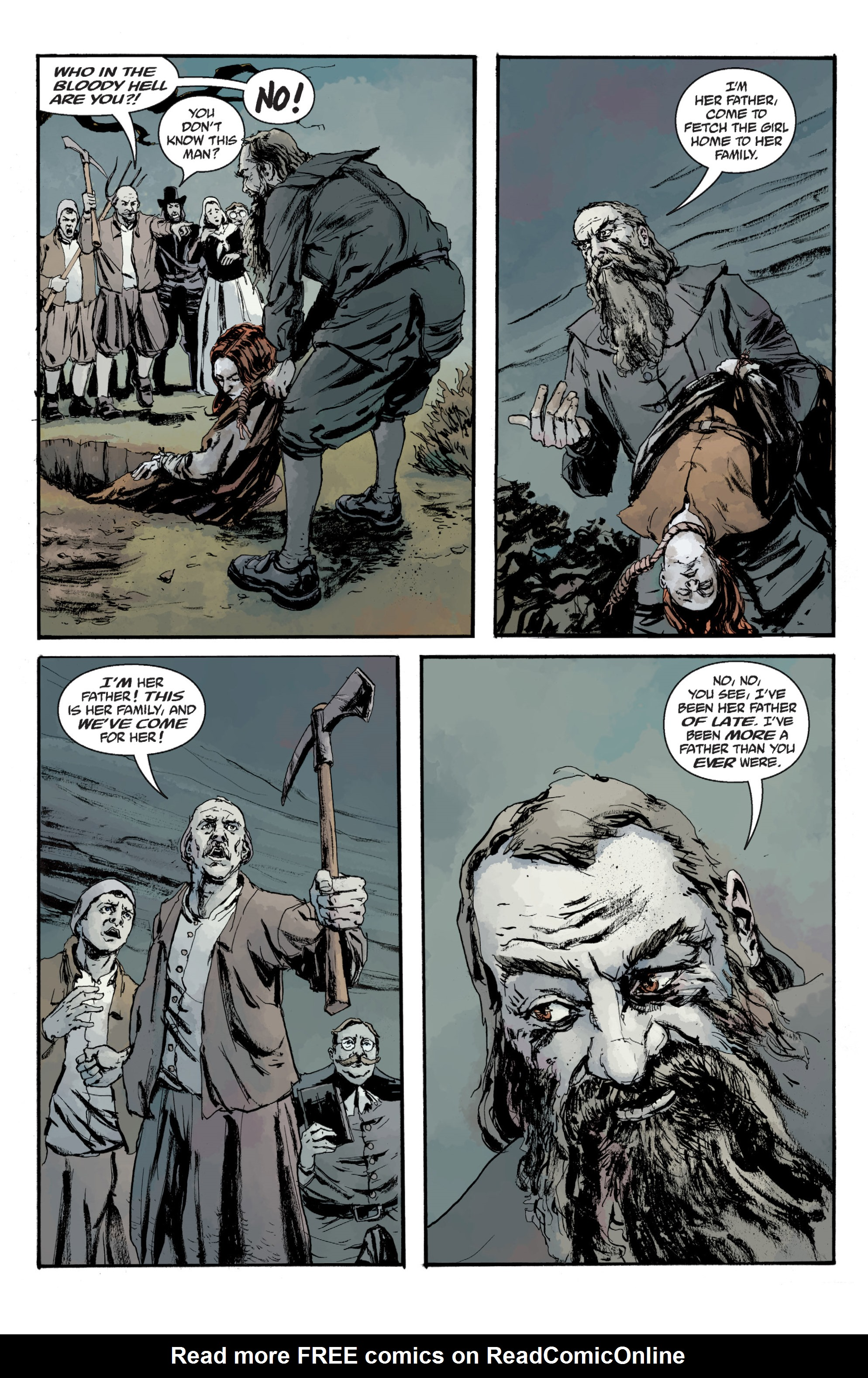 Read online Sir Edward Grey, Witchfinder: In the Service of Angels comic -  Issue # TPB - 138