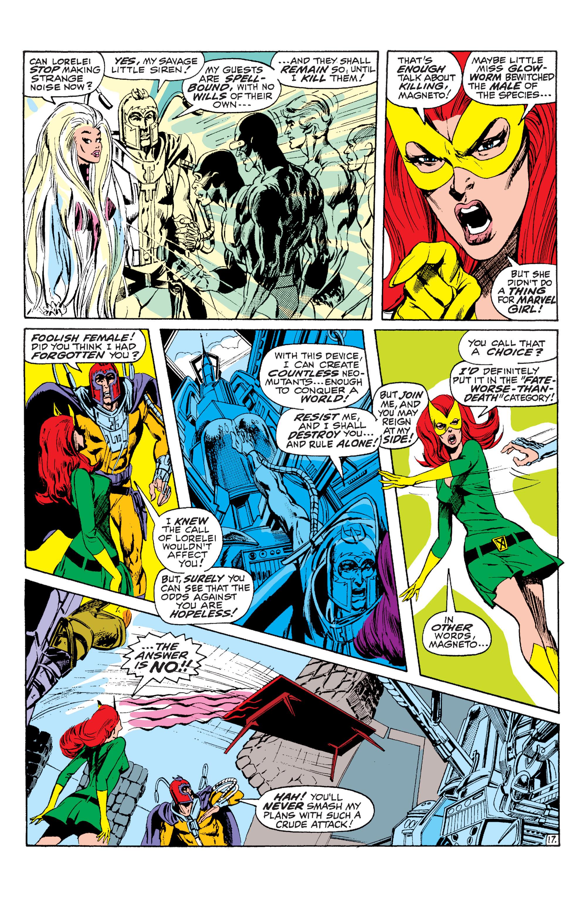 Read online Uncanny X-Men (1963) comic -  Issue #63 - 18