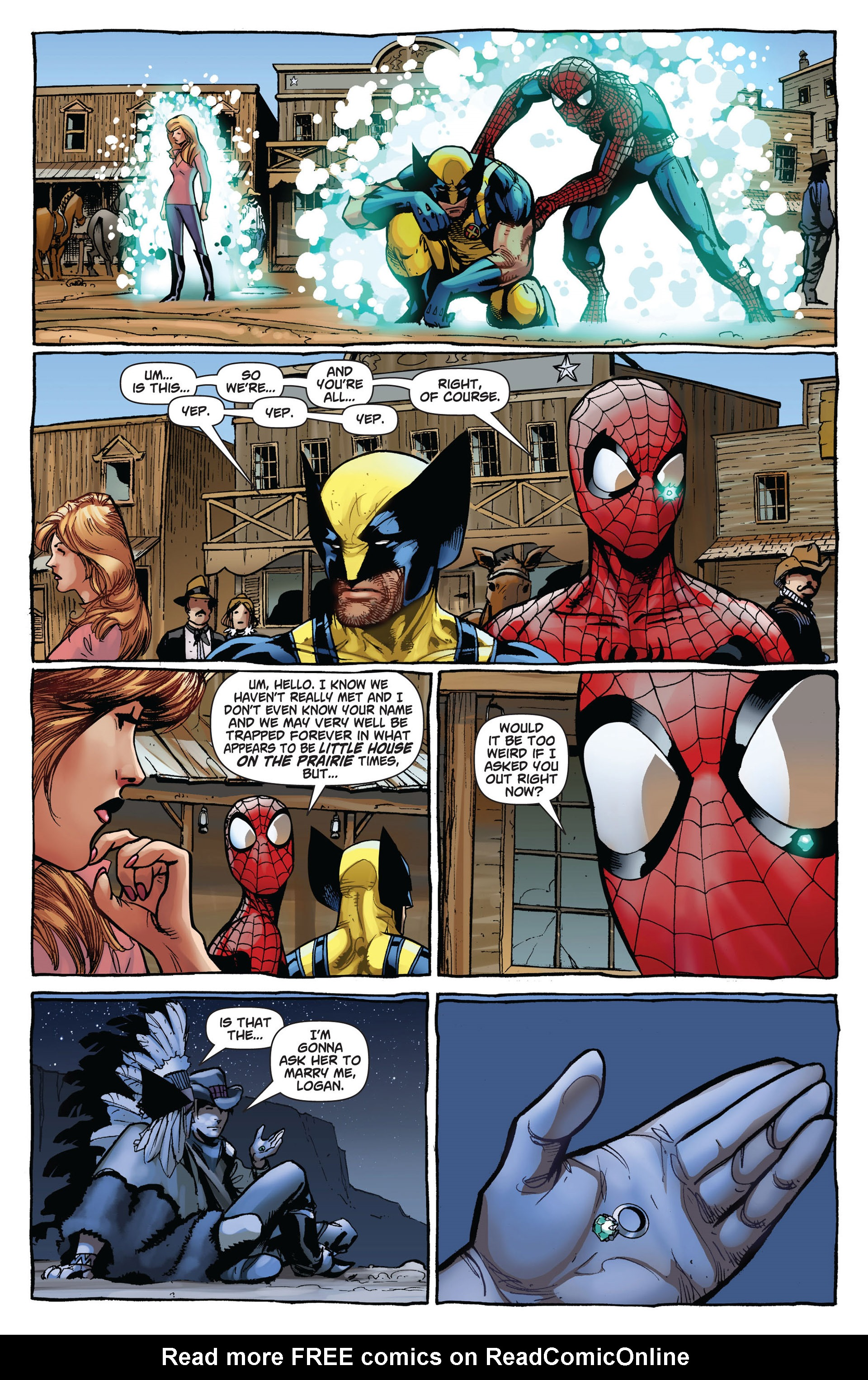 Read online Astonishing Spider-Man & Wolverine comic -  Issue #6 - 13