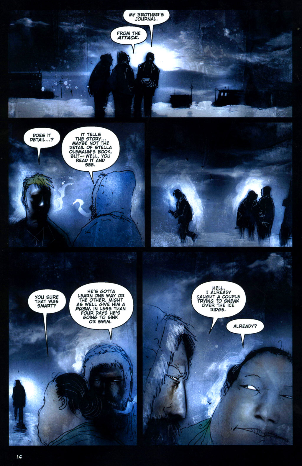 Read online 30 Days of Night: Return to Barrow comic -  Issue #1 - 18