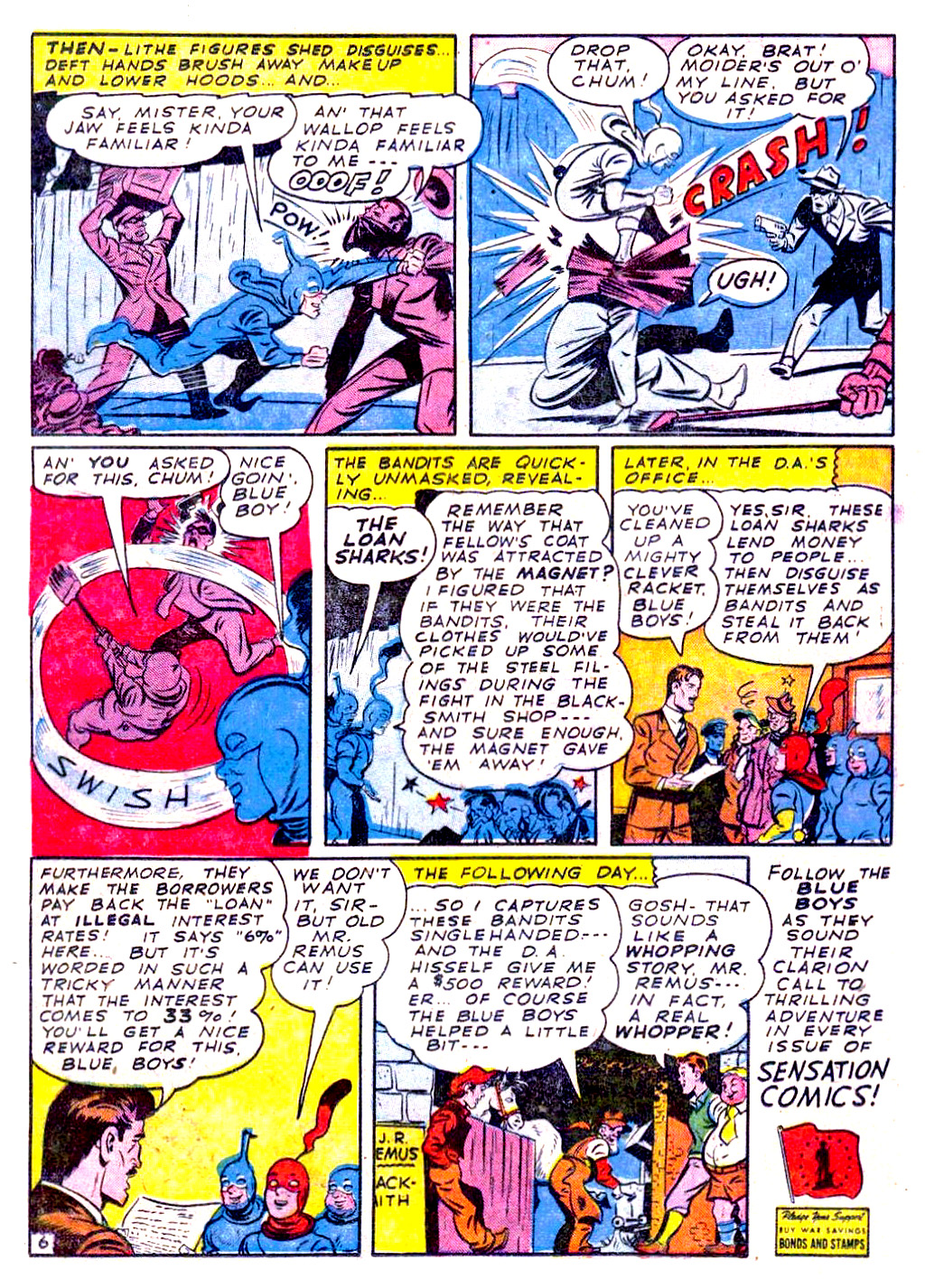 Read online Sensation (Mystery) Comics comic -  Issue #29 - 30
