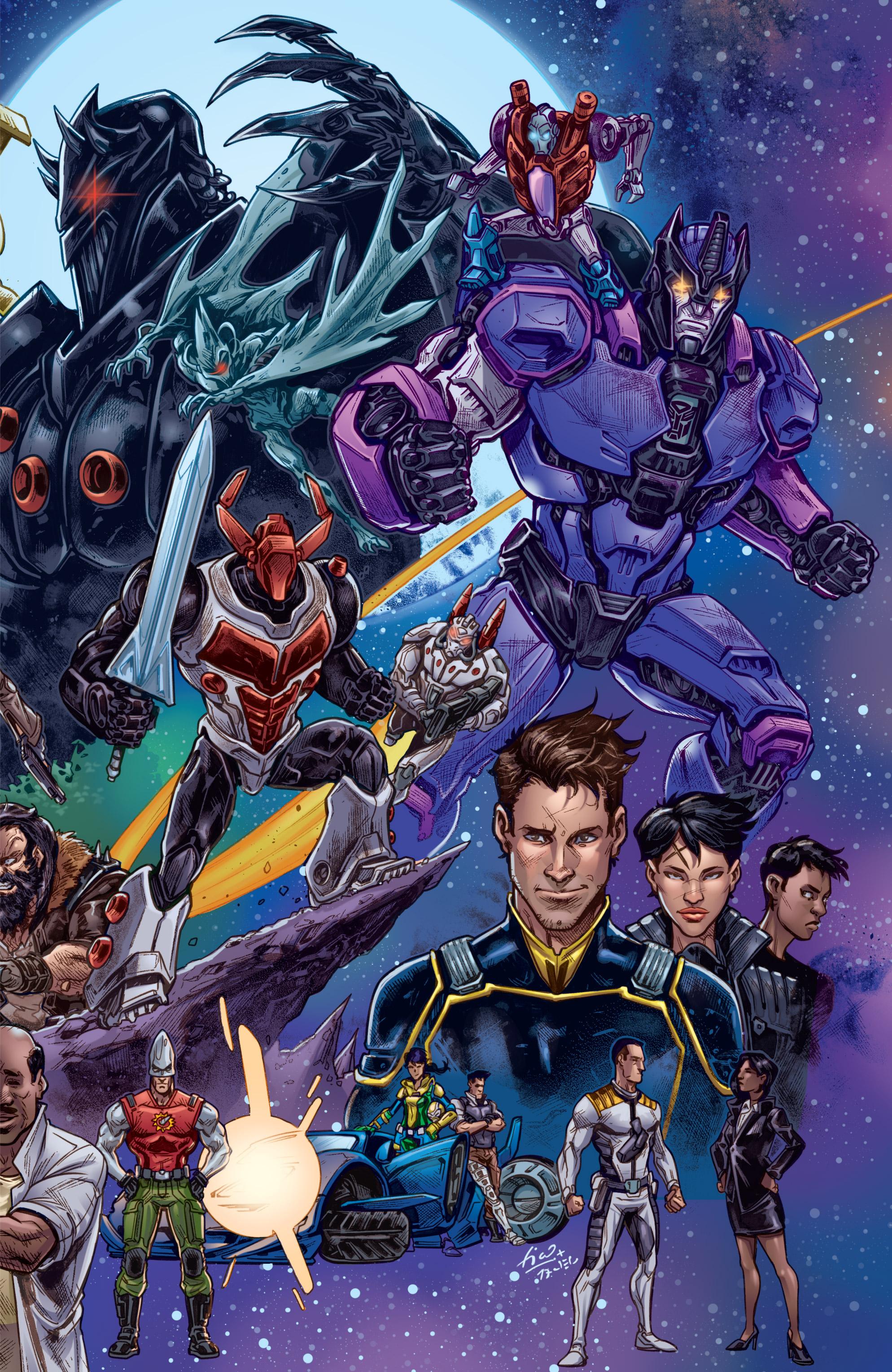 Read online Hasbro Heroes Sourcebook comic -  Issue #1 - 21