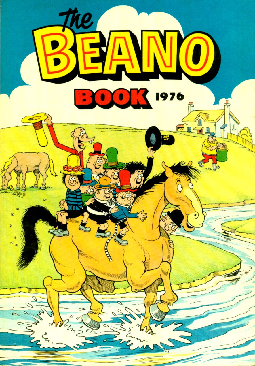 The Beano Book (Annual) 1976 Page 1