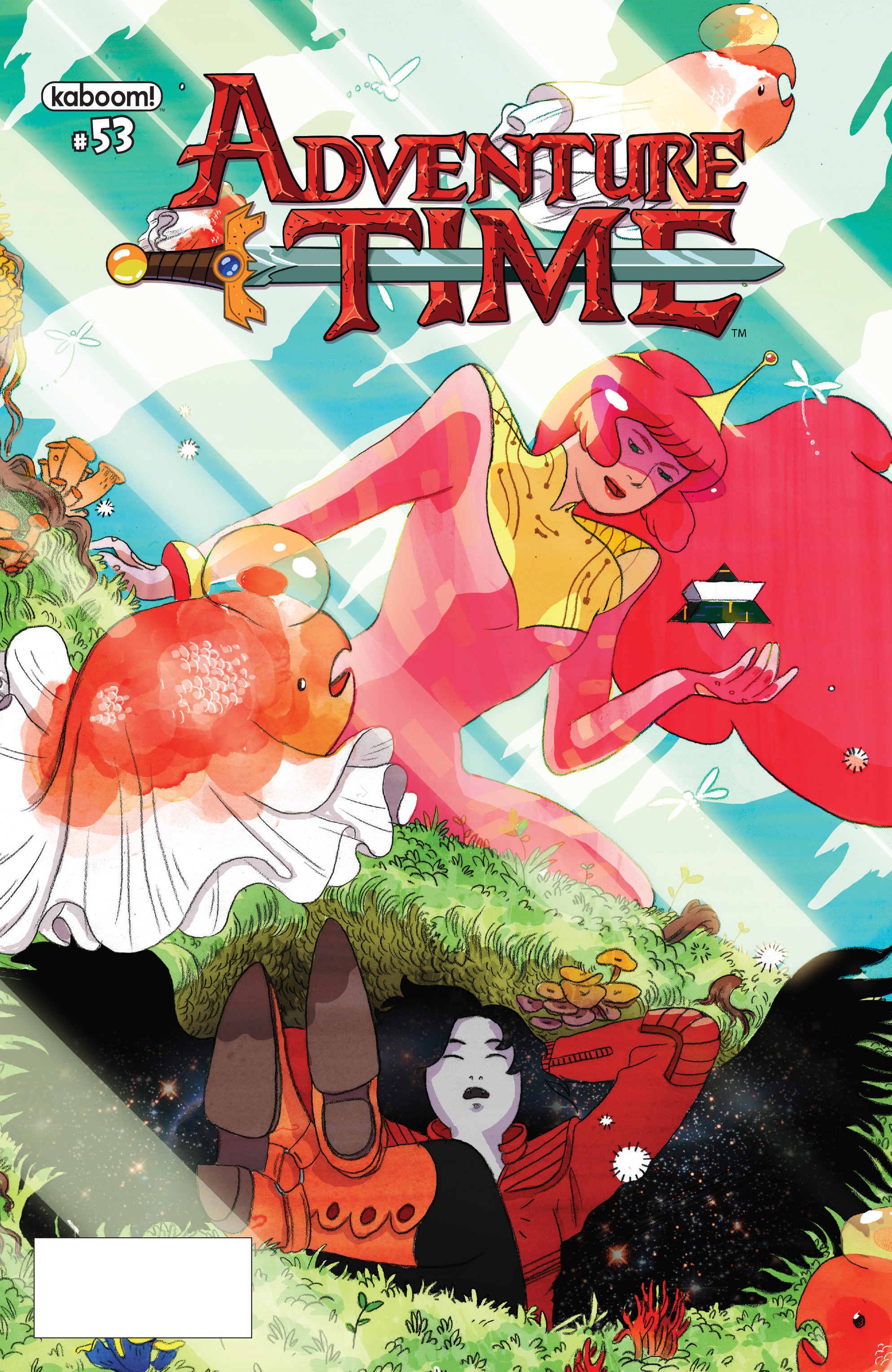 Read online Adventure Time comic -  Issue #53 - 1