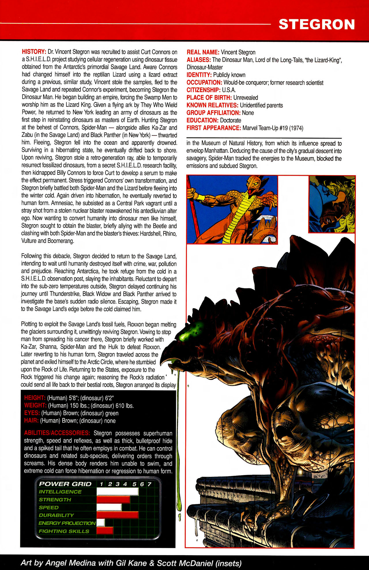 Read online All-New Official Handbook of the Marvel Universe A to Z comic -  Issue #10 - 63