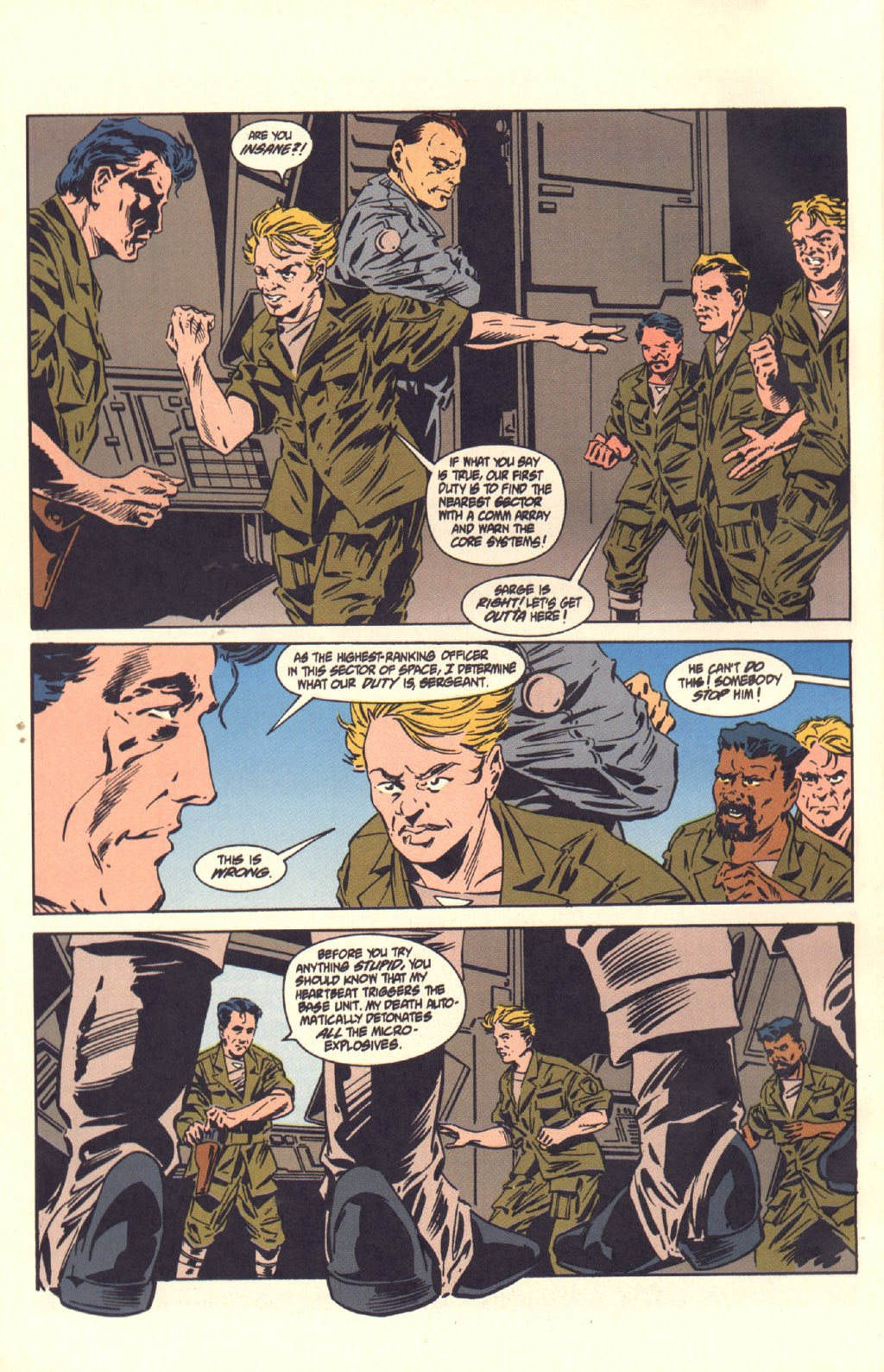 Read online Aliens: Colonial Marines comic -  Issue #6 - 24