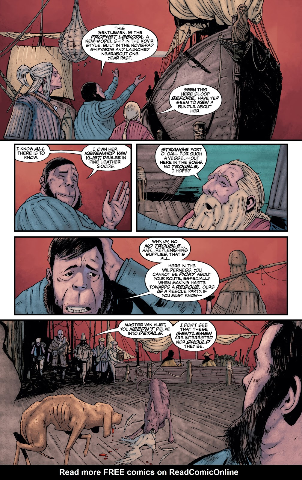 Read online The Witcher Omnibus comic -  Issue # TPB (Part 2) - 35