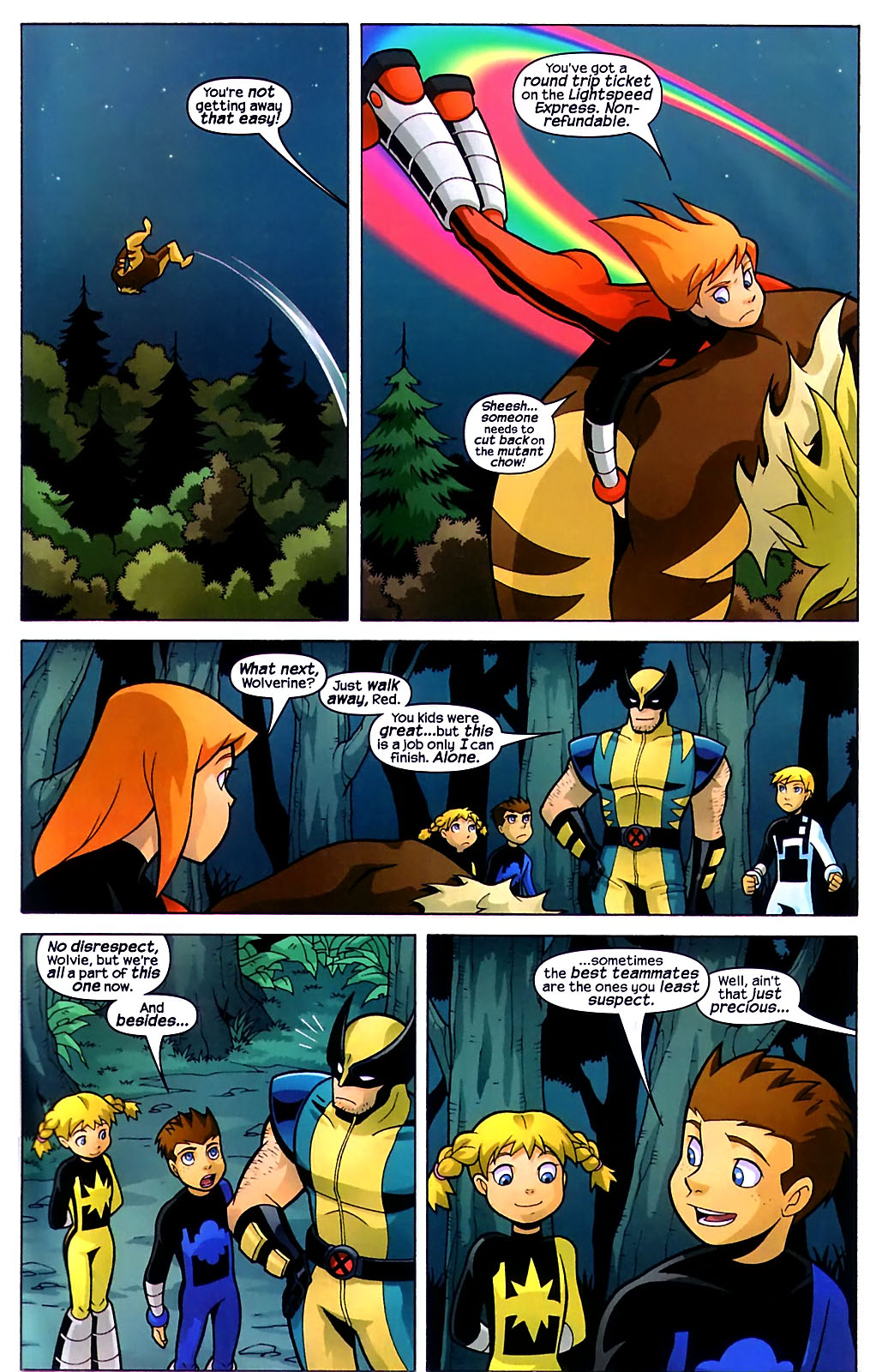 Read online X-Men and Power Pack comic -  Issue #1 - 21