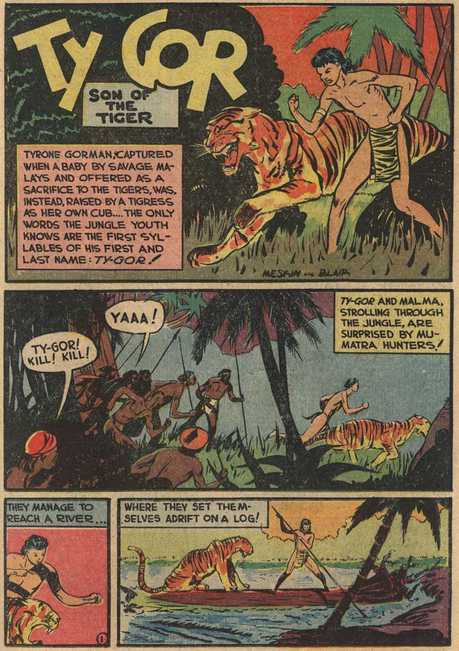 Blue Ribbon Comics (1939) issue 7 - Page 43