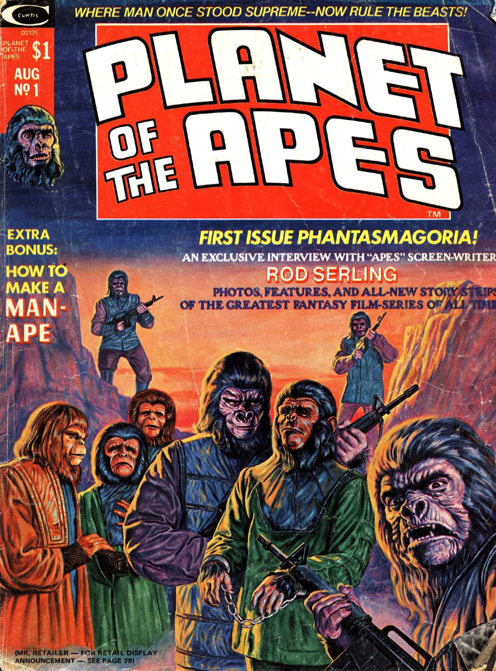 Planet of the Apes (1974) 1 Page 1