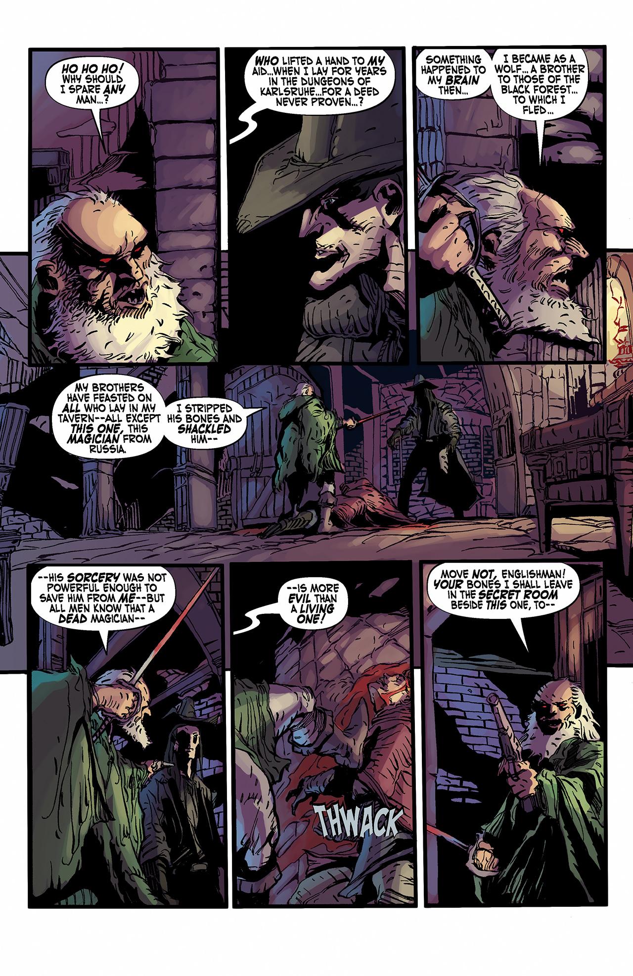 Read online Solomon Kane: Death's Black Riders comic -  Issue #2 - 21
