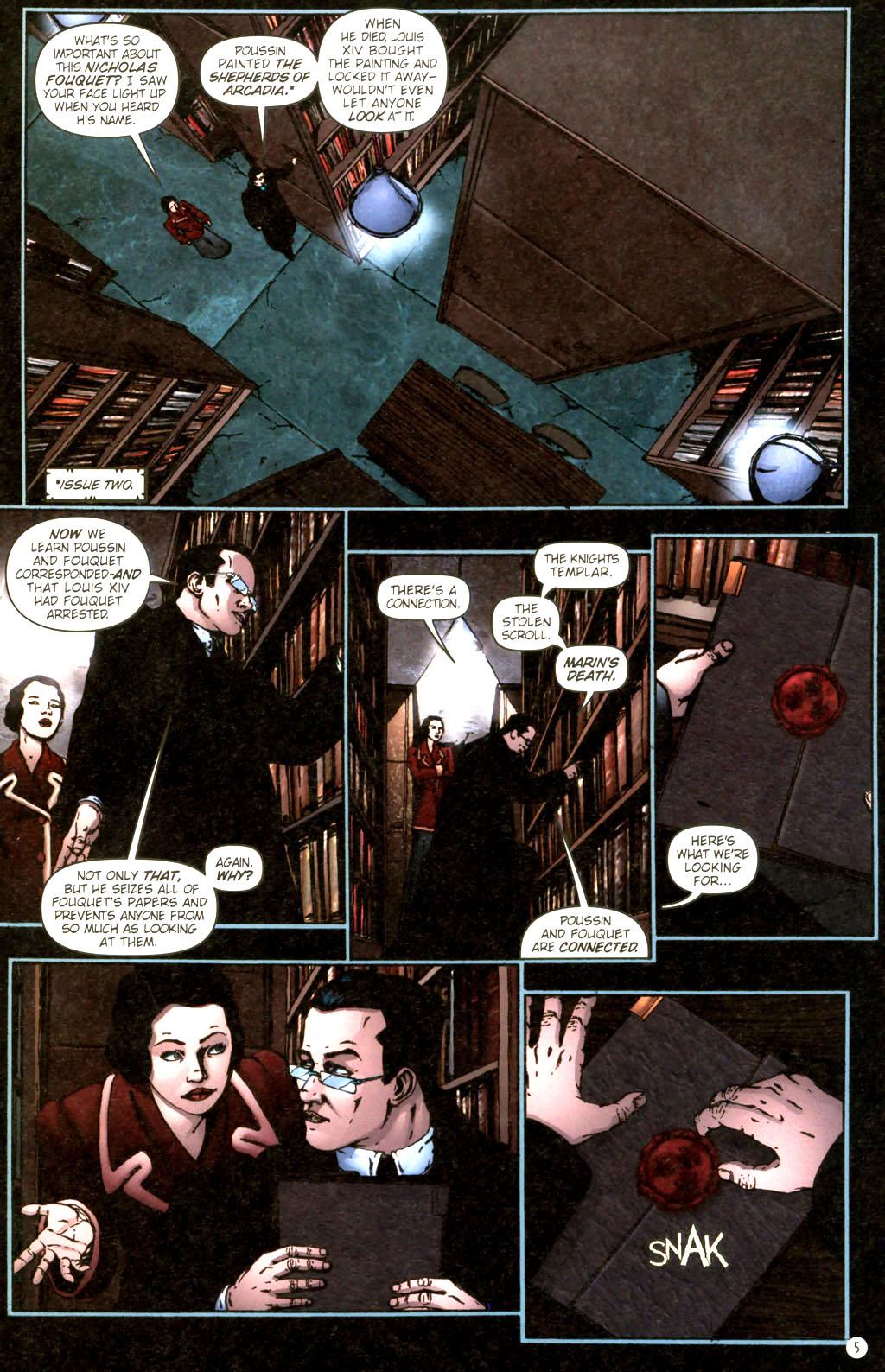 Read online Rex Mundi comic -  Issue #9 - 9