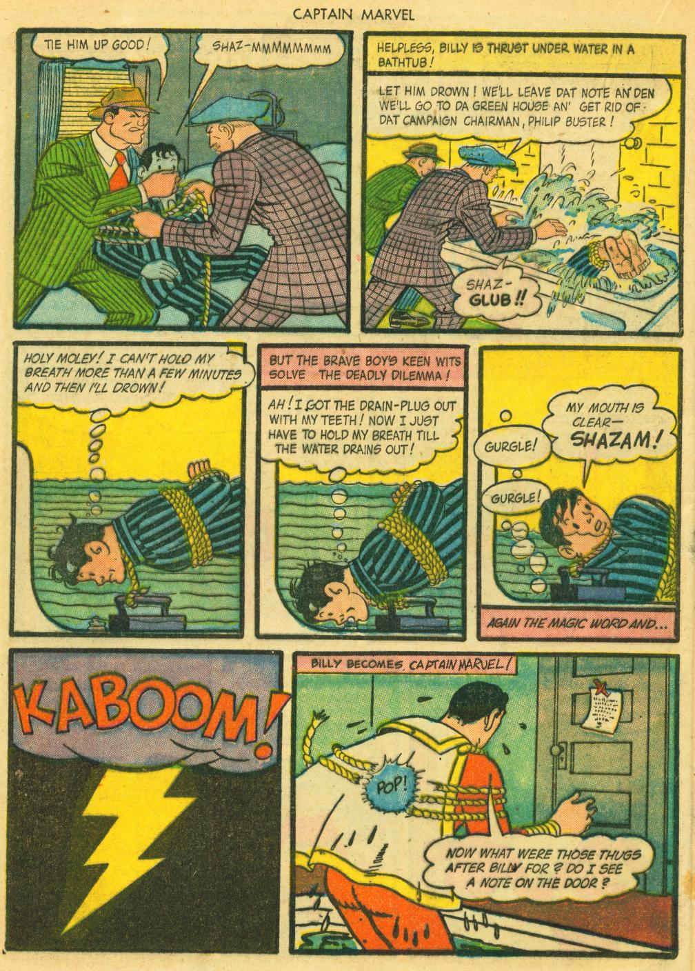 Captain Marvel Adventures issue 41 - Page 36