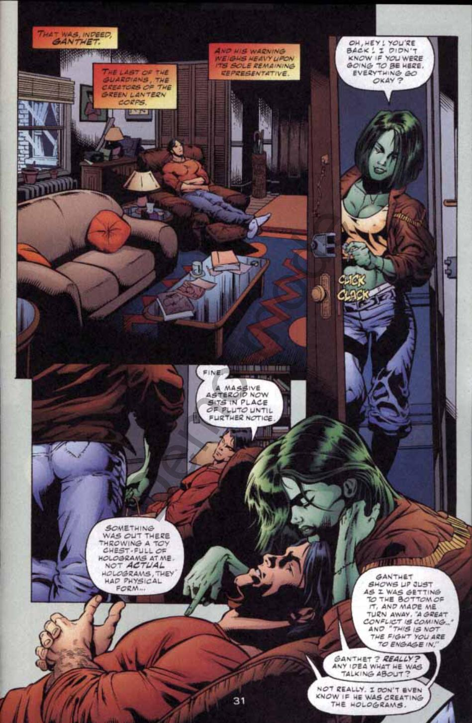 Read online Green Lantern: Our Worlds At War comic -  Issue # Full - 29
