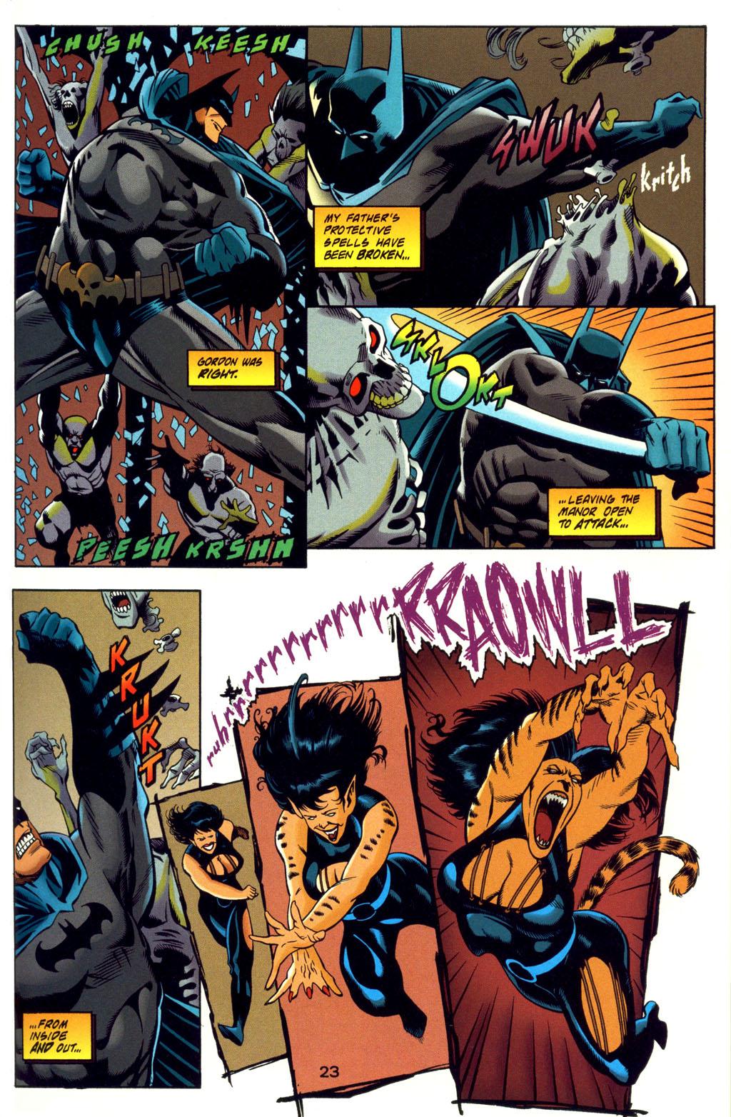 Read online Batman: Haunted Gotham comic -  Issue #4 - 23