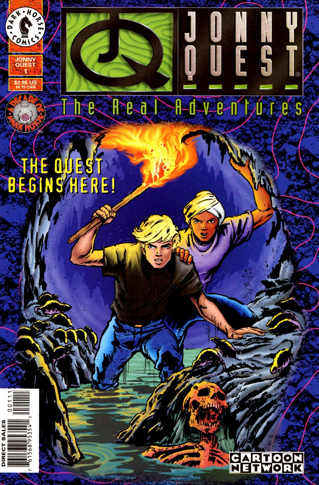 Read online The Real Adventures of Jonny Quest comic -  Issue #1 - 1
