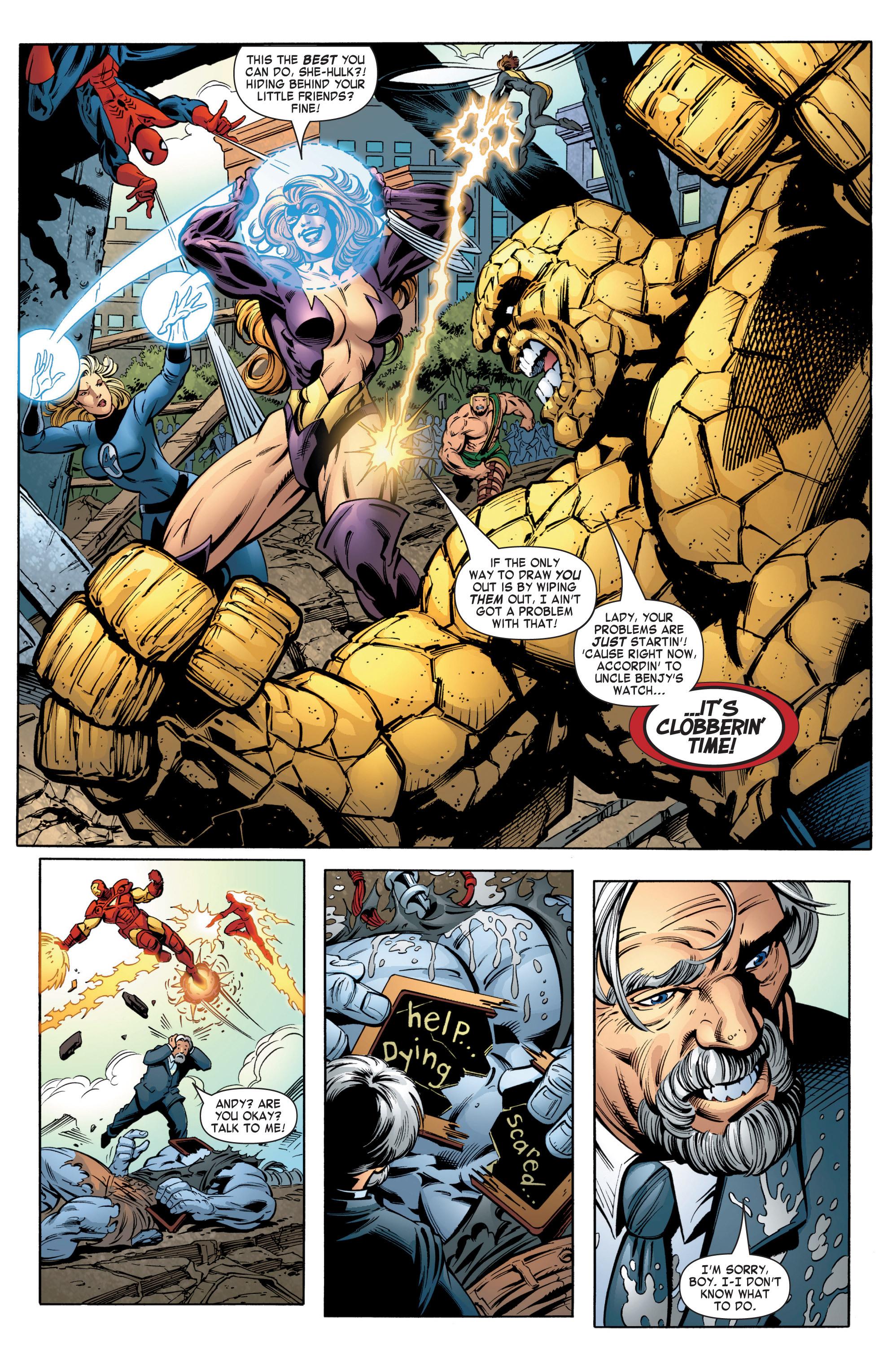 Read online She-Hulk (2004) comic -  Issue #12 - 13