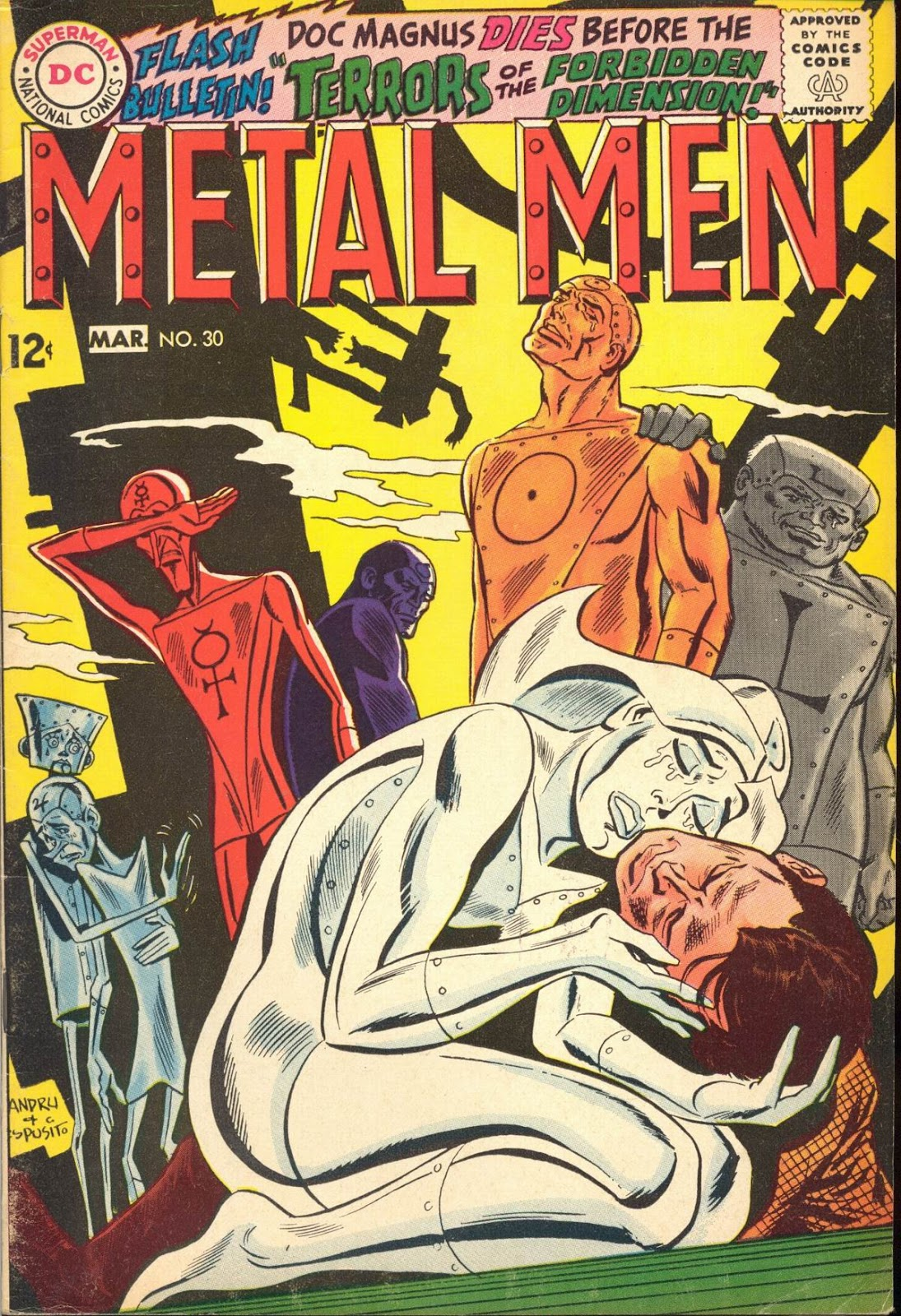 Metal Men (1963) issue 30 - Page 1