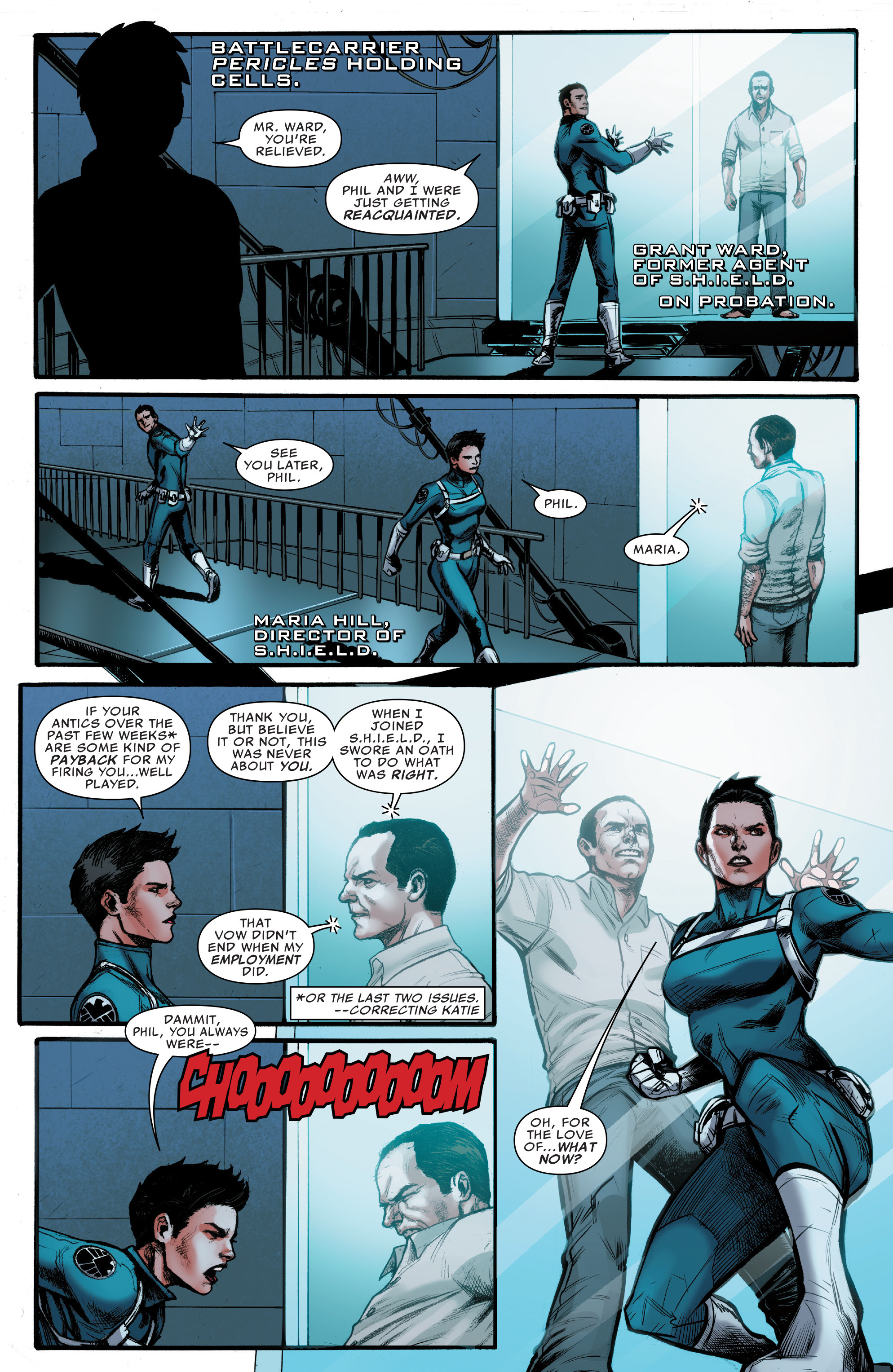 Read online Agents of S.H.I.E.L.D. comic -  Issue #10 - 5