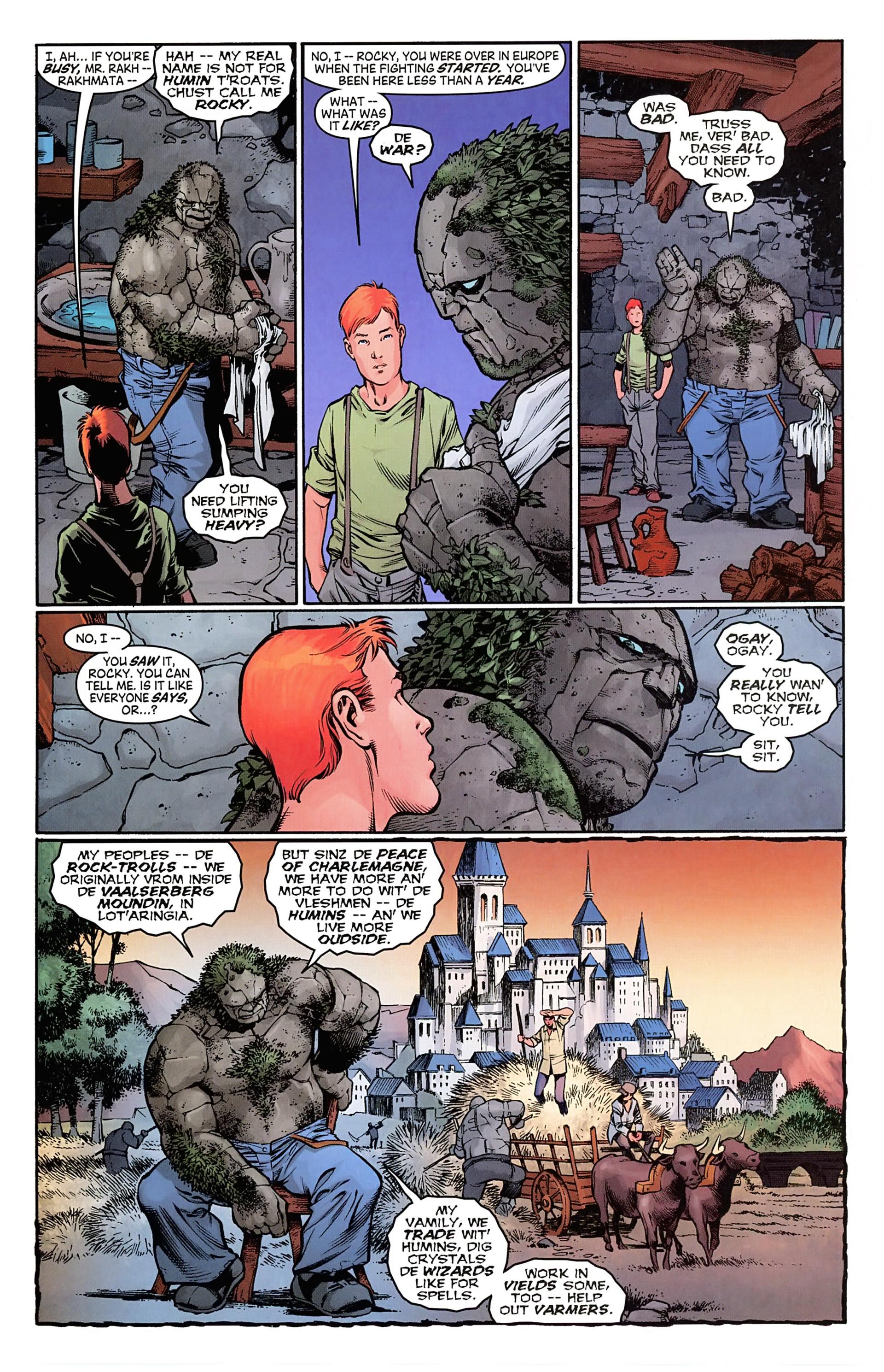 Read online Arrowsmith comic -  Issue #1 - 16