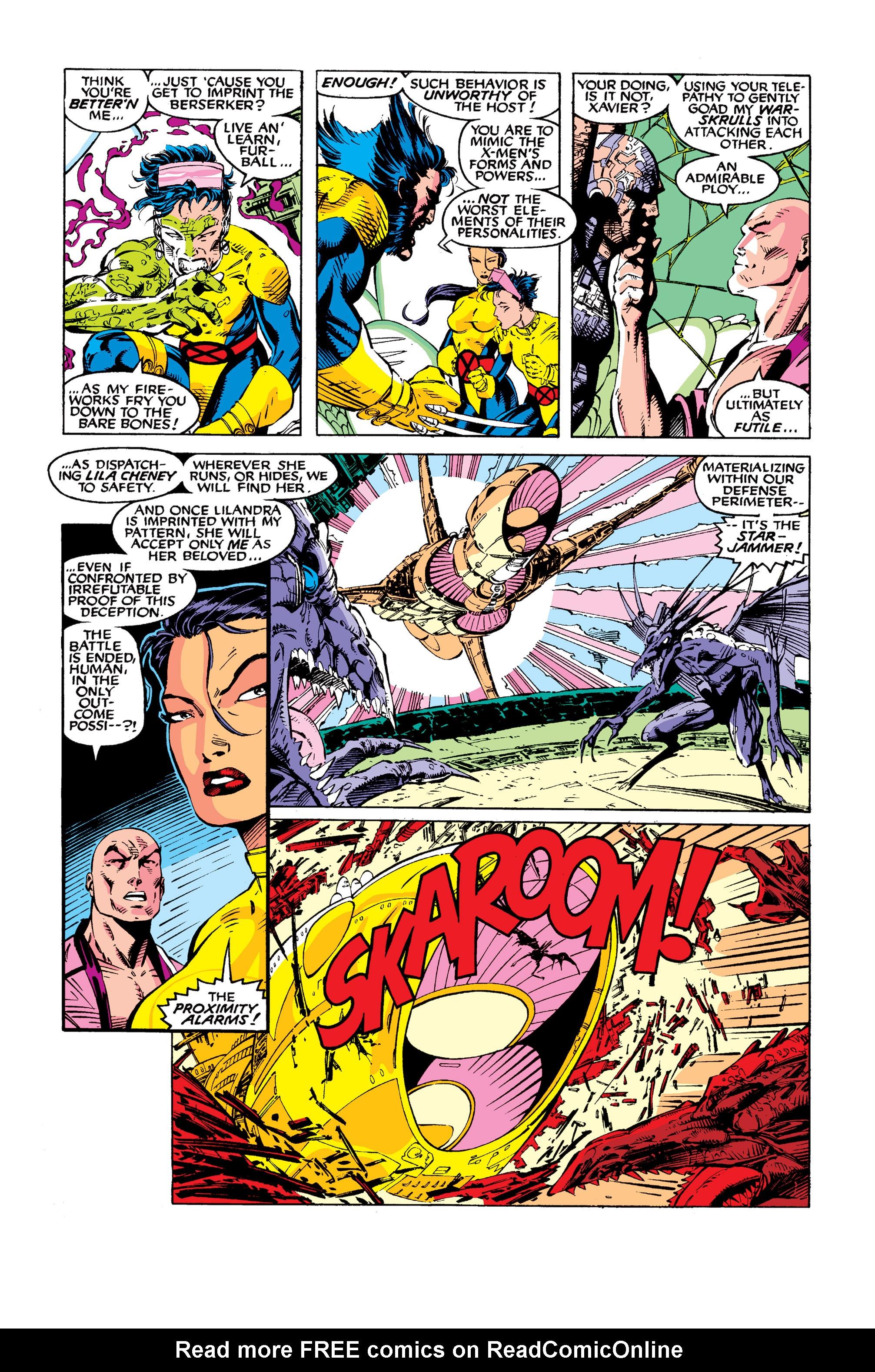 Read online Uncanny X-Men (1963) comic -  Issue #277 - 13