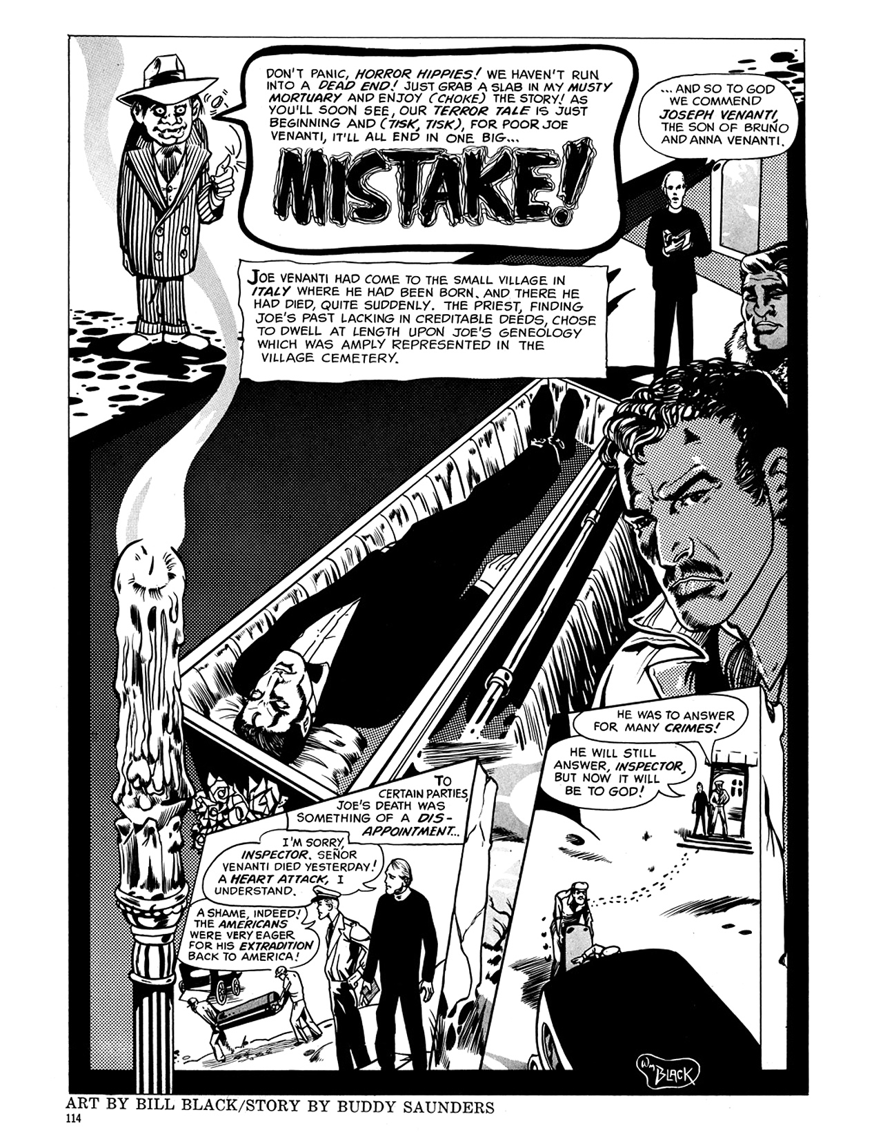 Read online Eerie Archives comic -  Issue # TPB 5 - 115