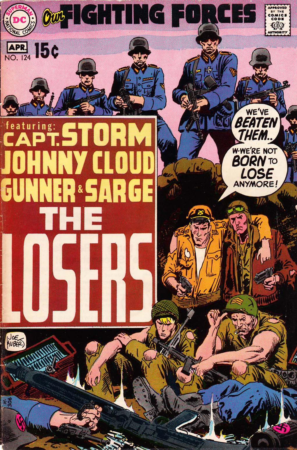 Our Fighting Forces (1954) issue 124 - Page 1