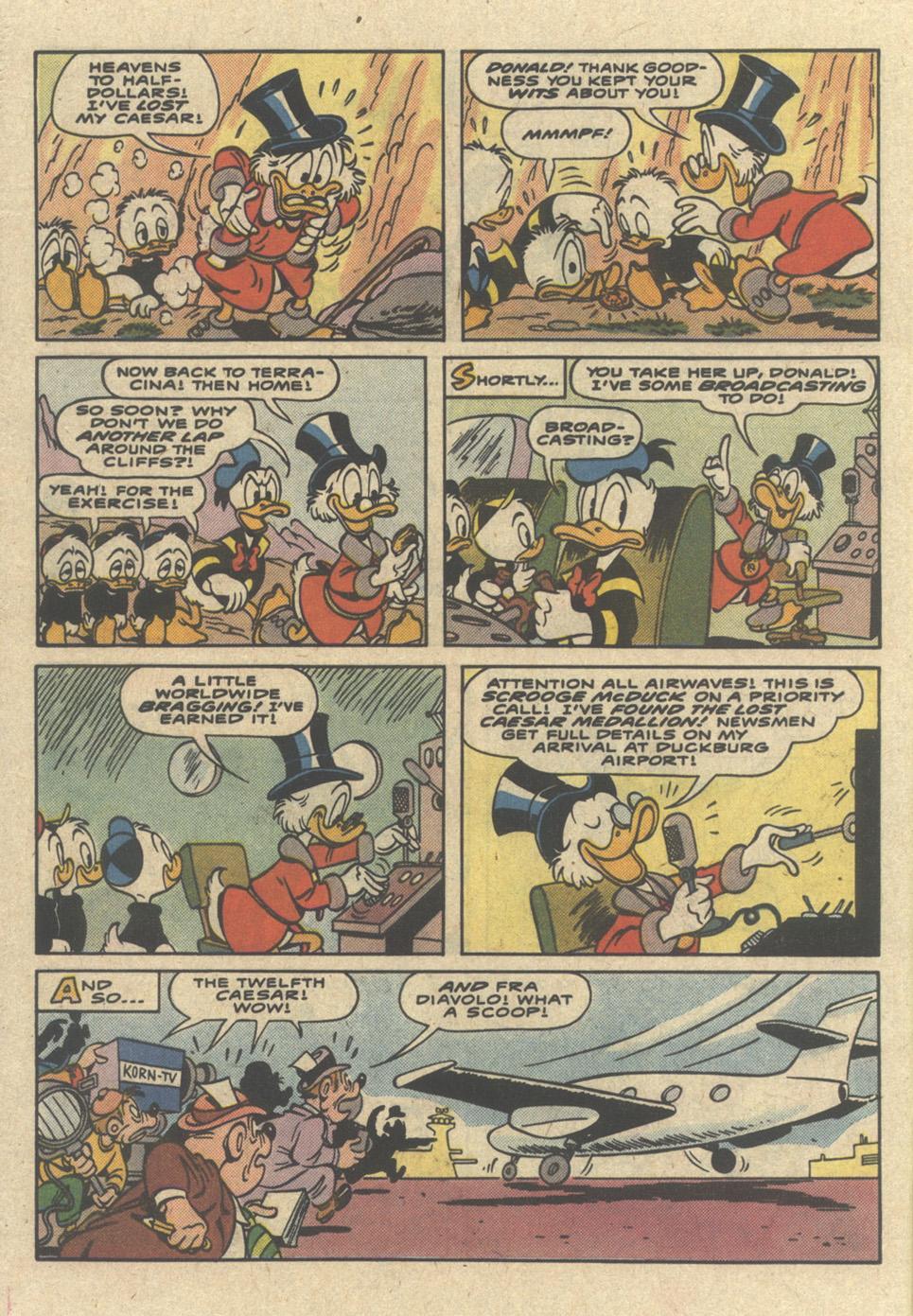 Comic Walt Disney's Uncle Scrooge Adventures issue 7
