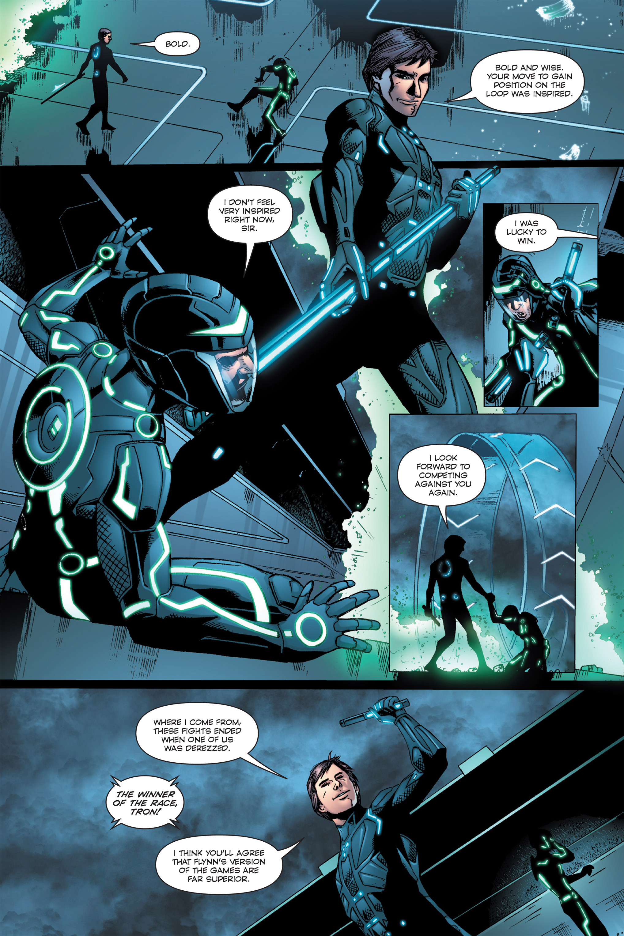 Read online TRON: Betrayal comic -  Issue # TPB - 31