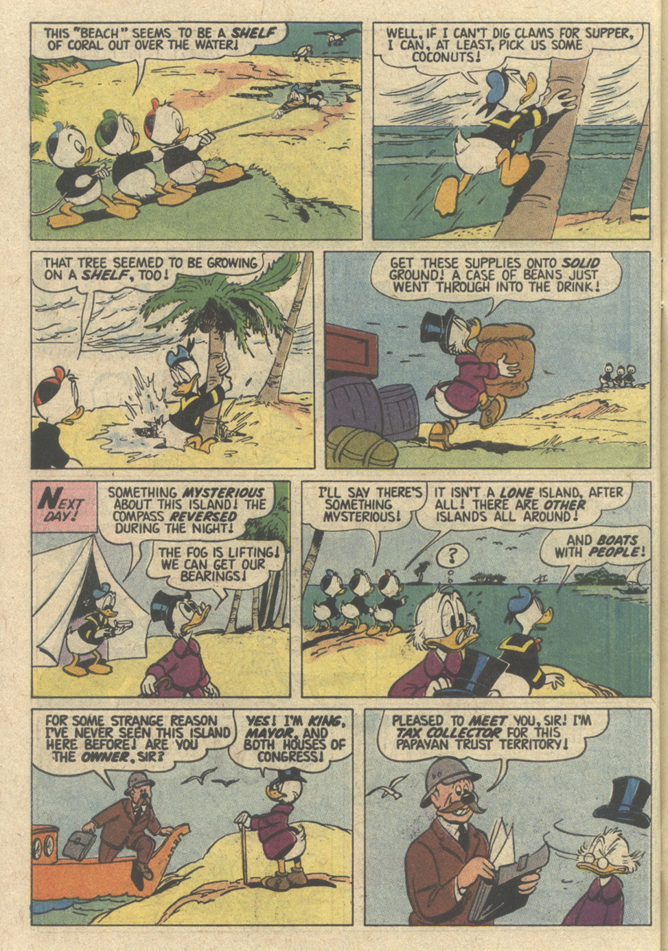 Read online Uncle Scrooge (1953) comic -  Issue #239 - 30