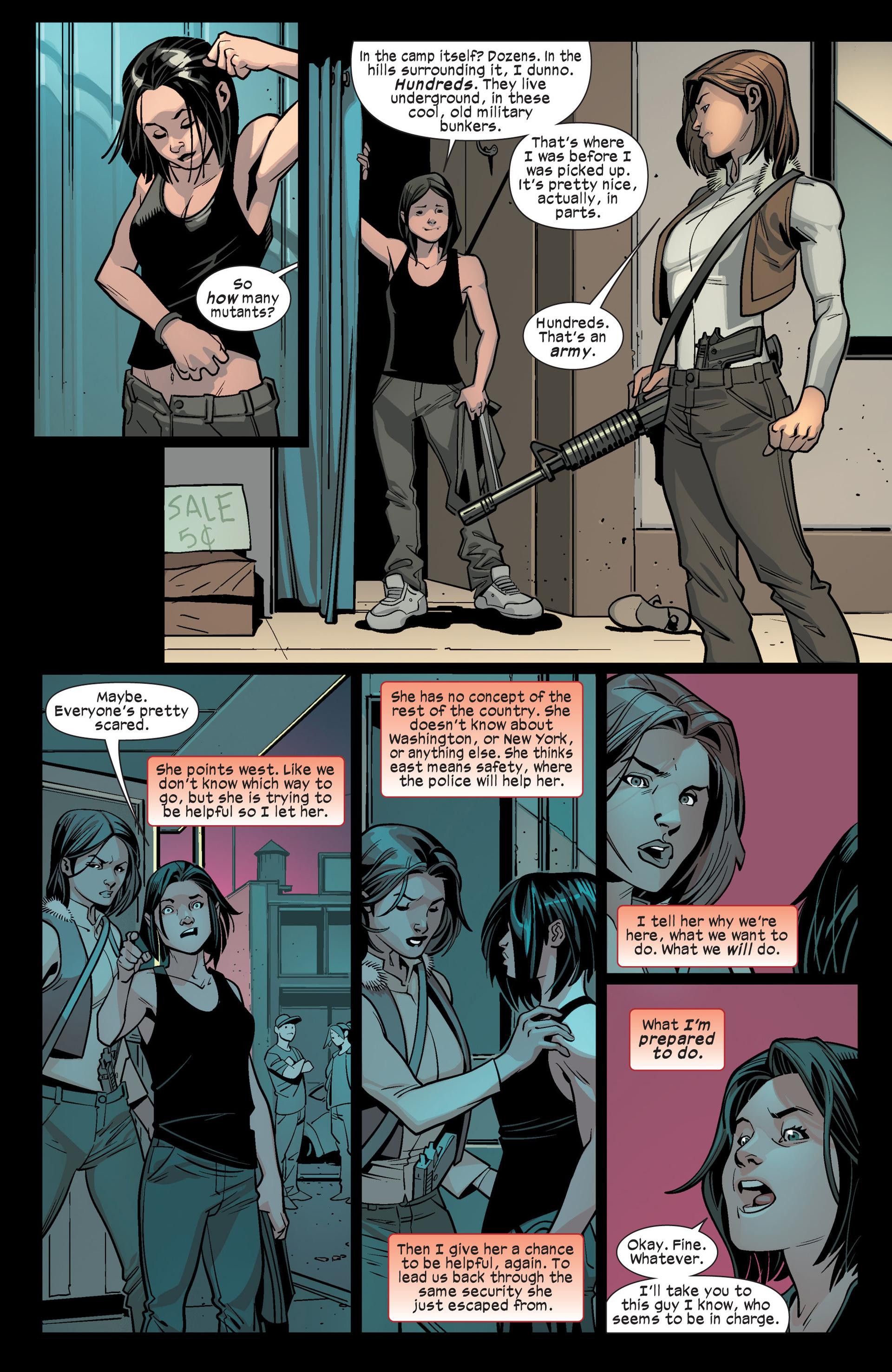 Read online Ultimate Comics X-Men comic -  Issue #15 - 21