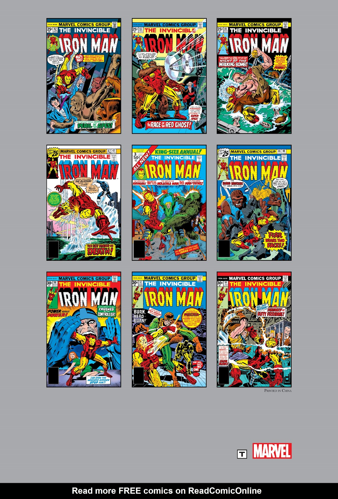 Read online Marvel Masterworks: The Invincible Iron Man comic -  Issue # TPB 11 (Part 3) - 128